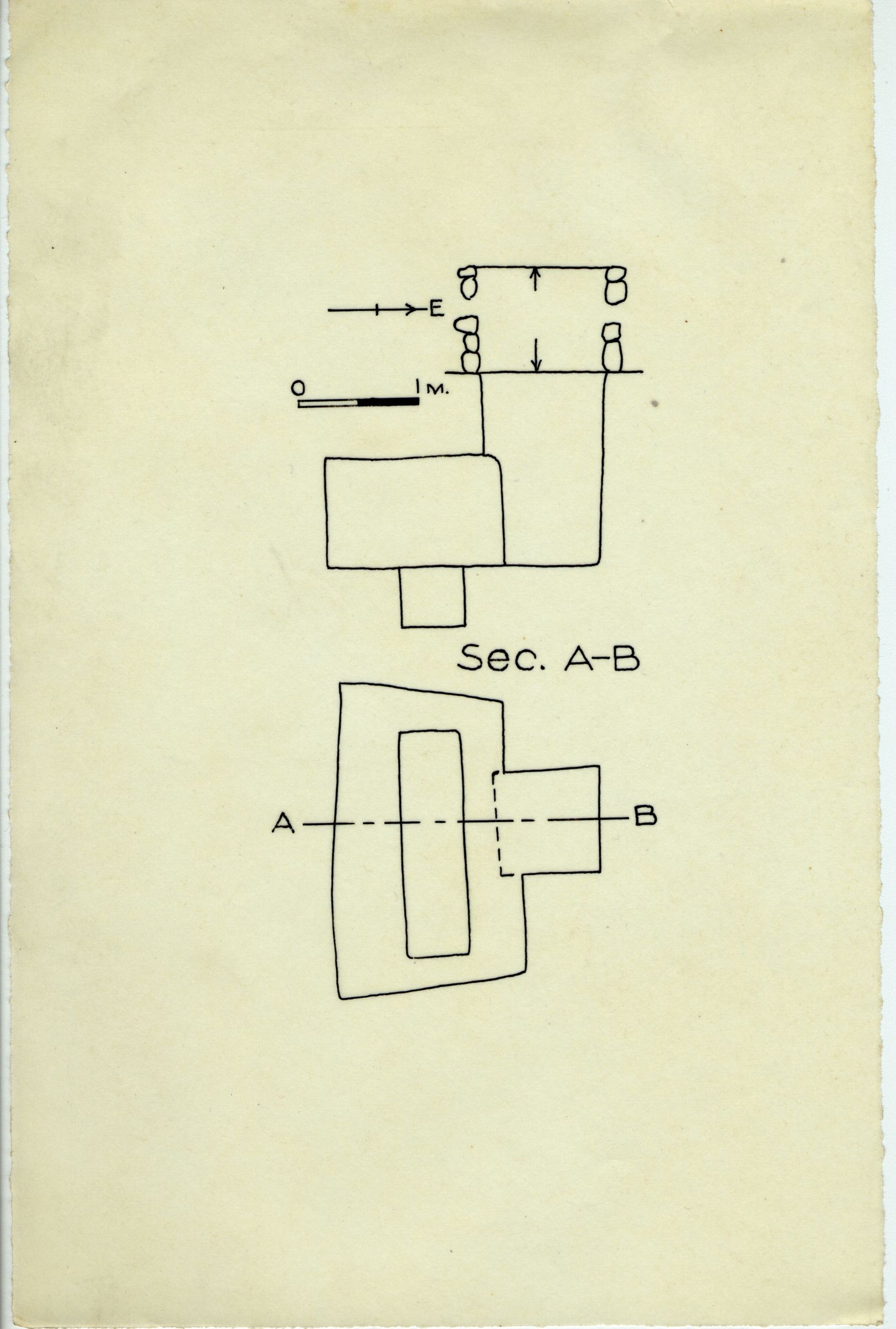 Maps and plans: G 2359 A = G 5552, Shaft A