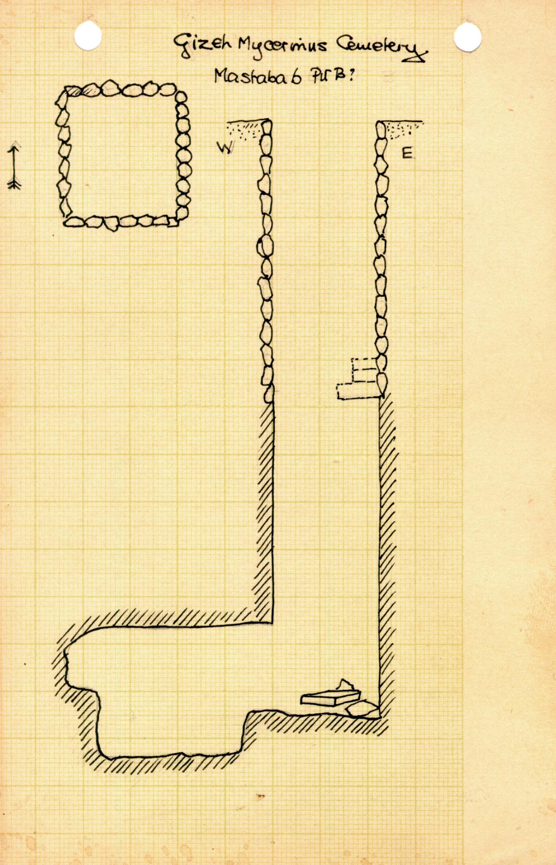 Maps and plans: MQ 6, Shaft B