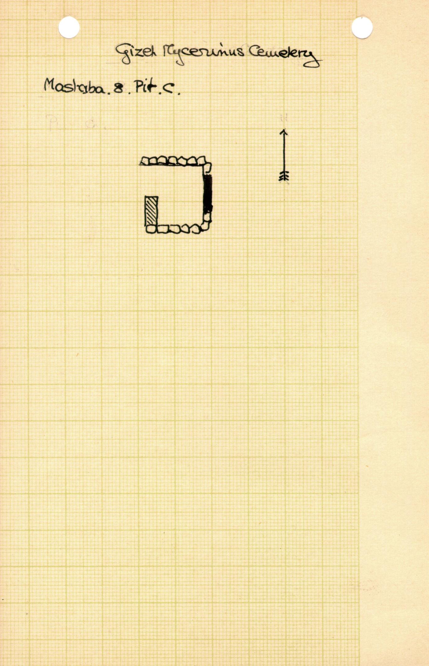 Maps and plans: MQ 8, Shaft C