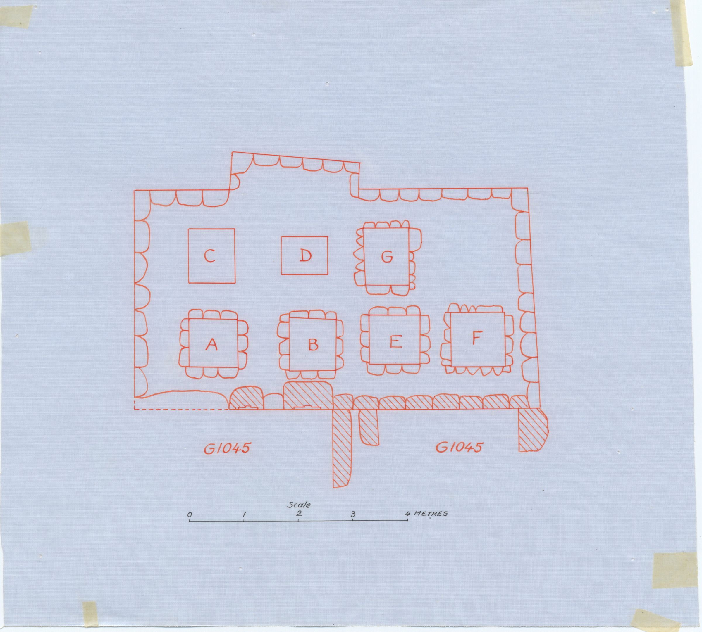 Maps and plans: G 1045+1046, Plan