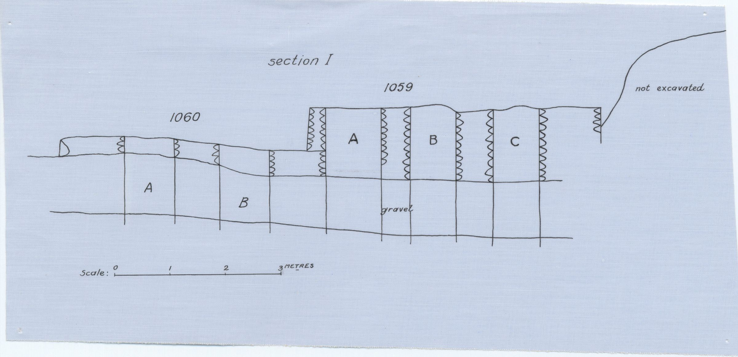 Maps and plans: Section of G 1059 and G 1060