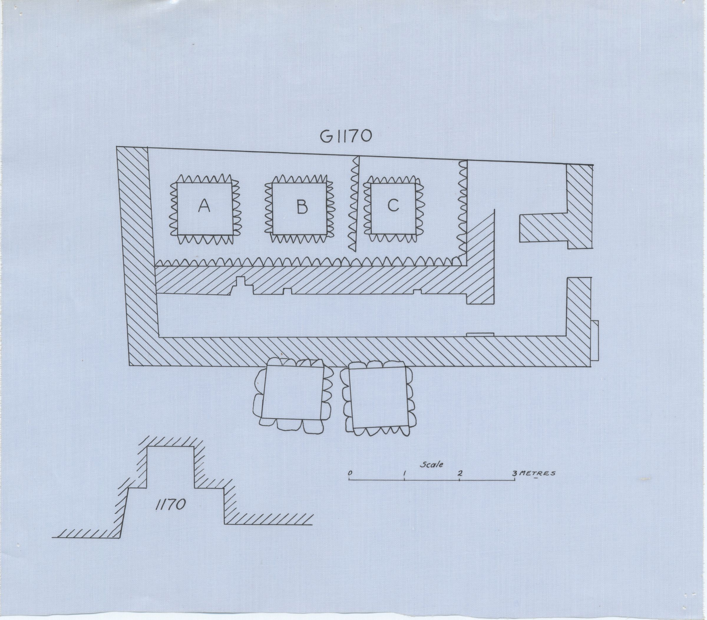 Maps and plans: G 1170, Plan
