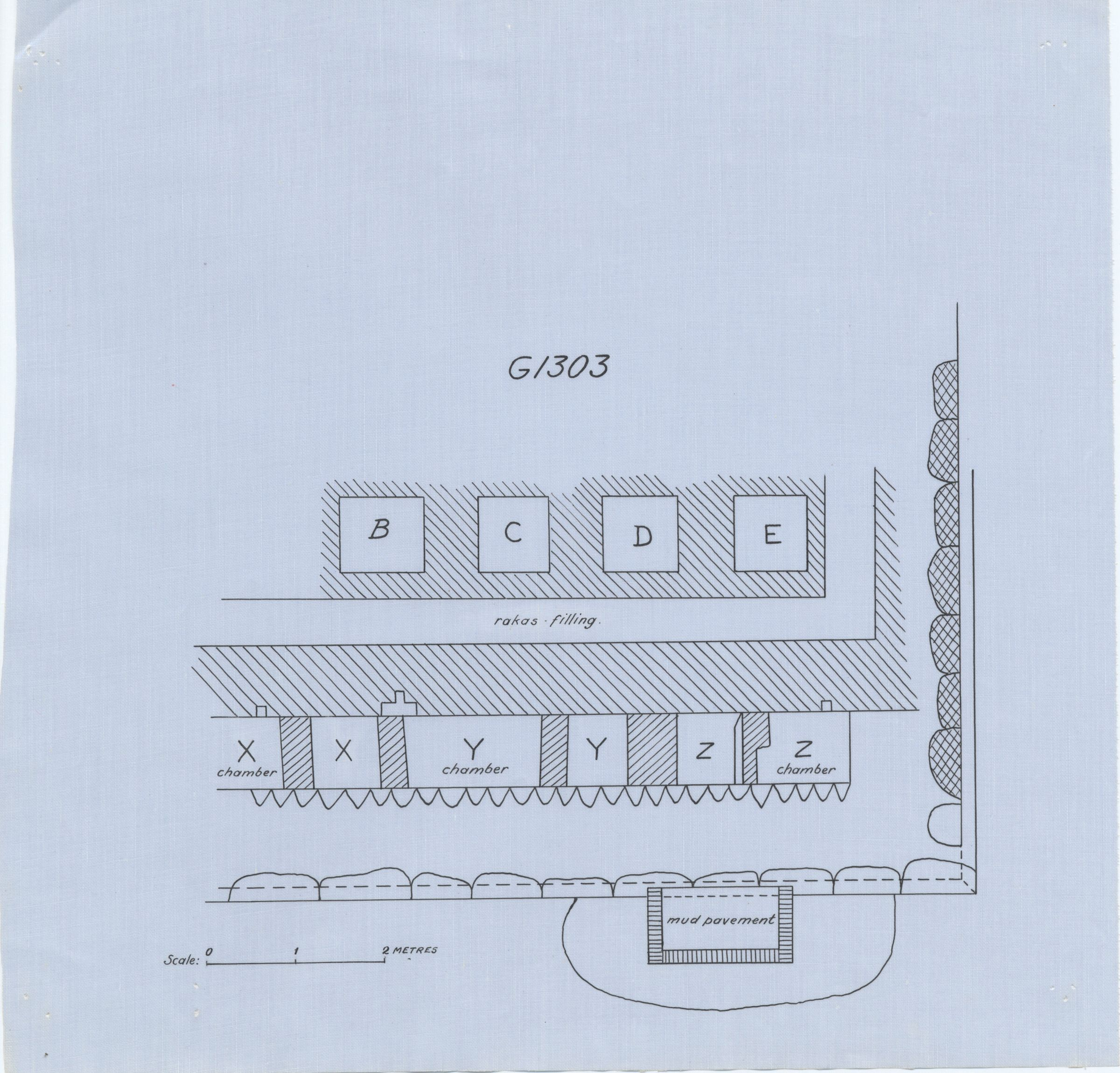 Maps and plans: G 1303, Plan (partial)