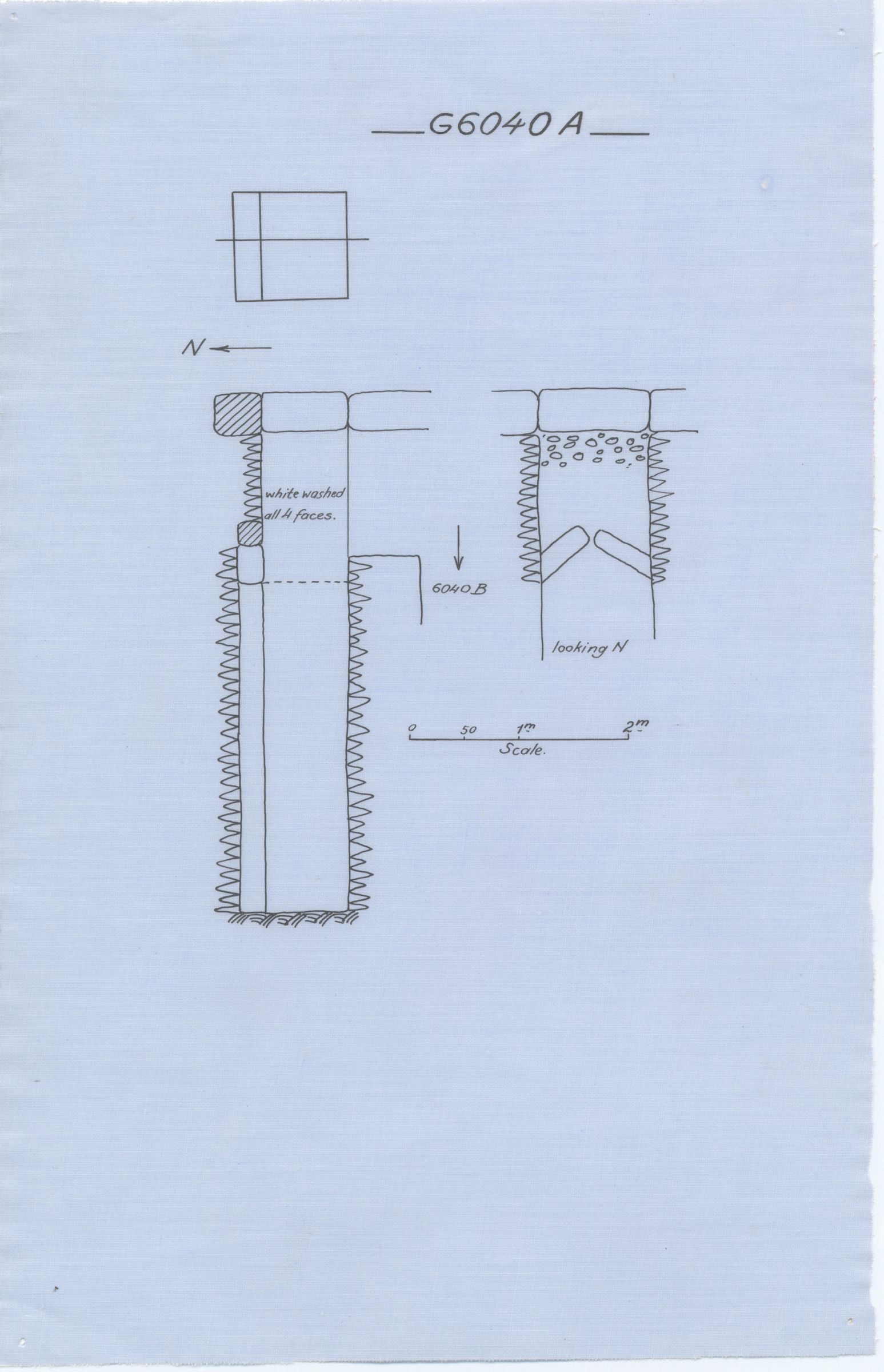 Maps and plans: G 6040, Shaft A