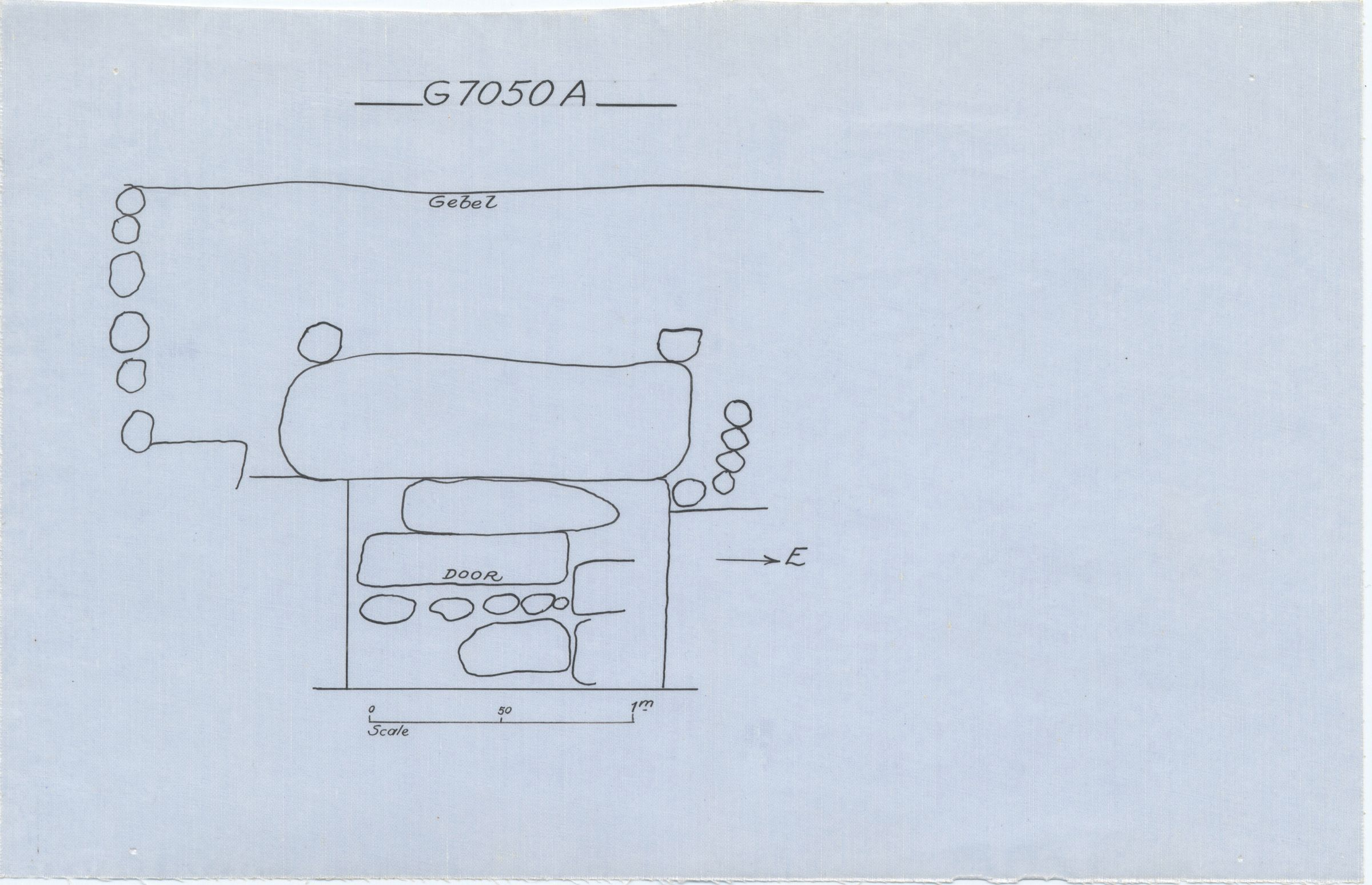 Maps and plans: G 7050, Shaft A
