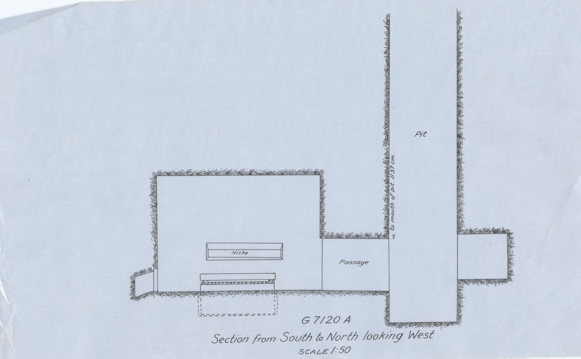 Maps and plans: G 7110-7120: G 7120, Shaft A
