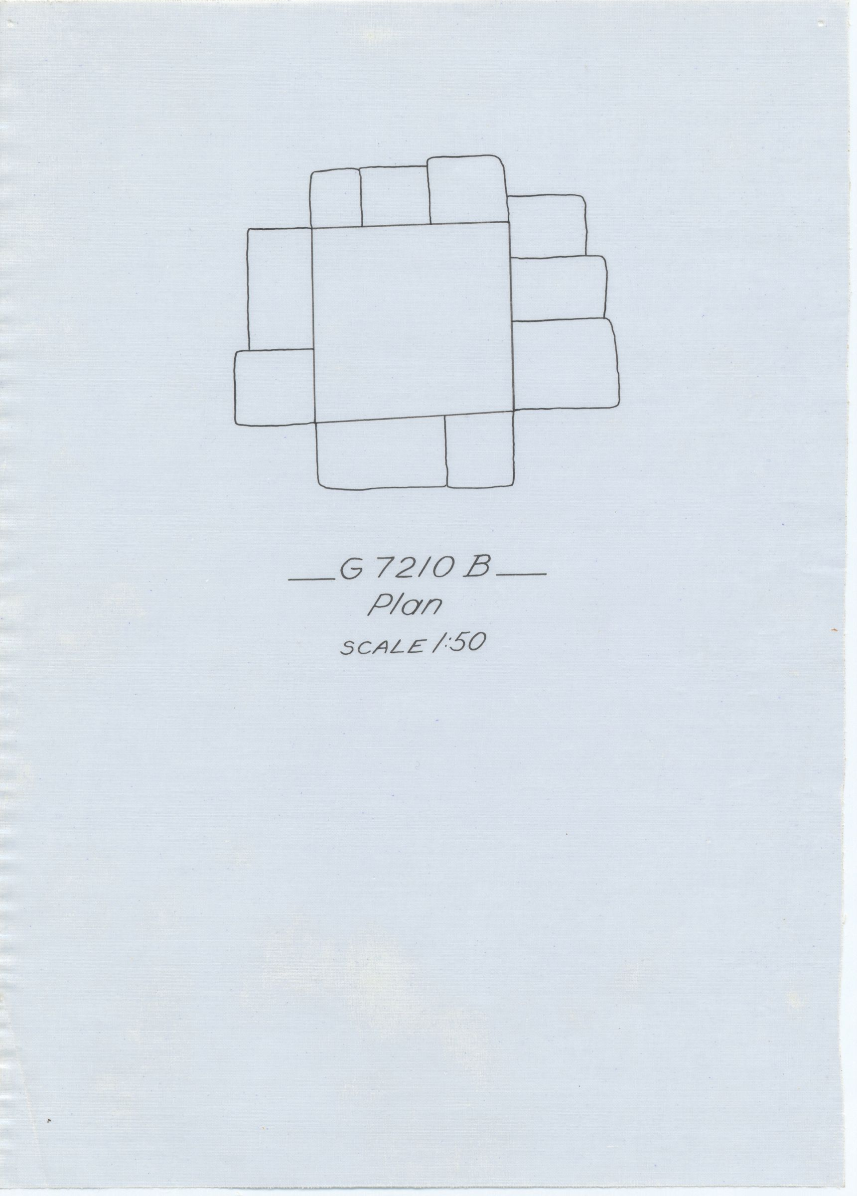 Maps and plans: G 7210-7220: G 7210, Shaft B