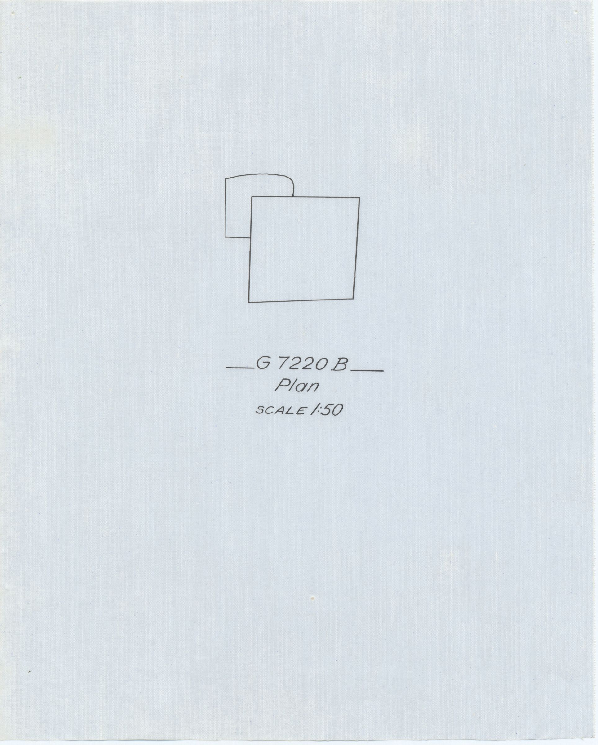 Maps and plans: G 7210-7220: G 7220, Shaft B