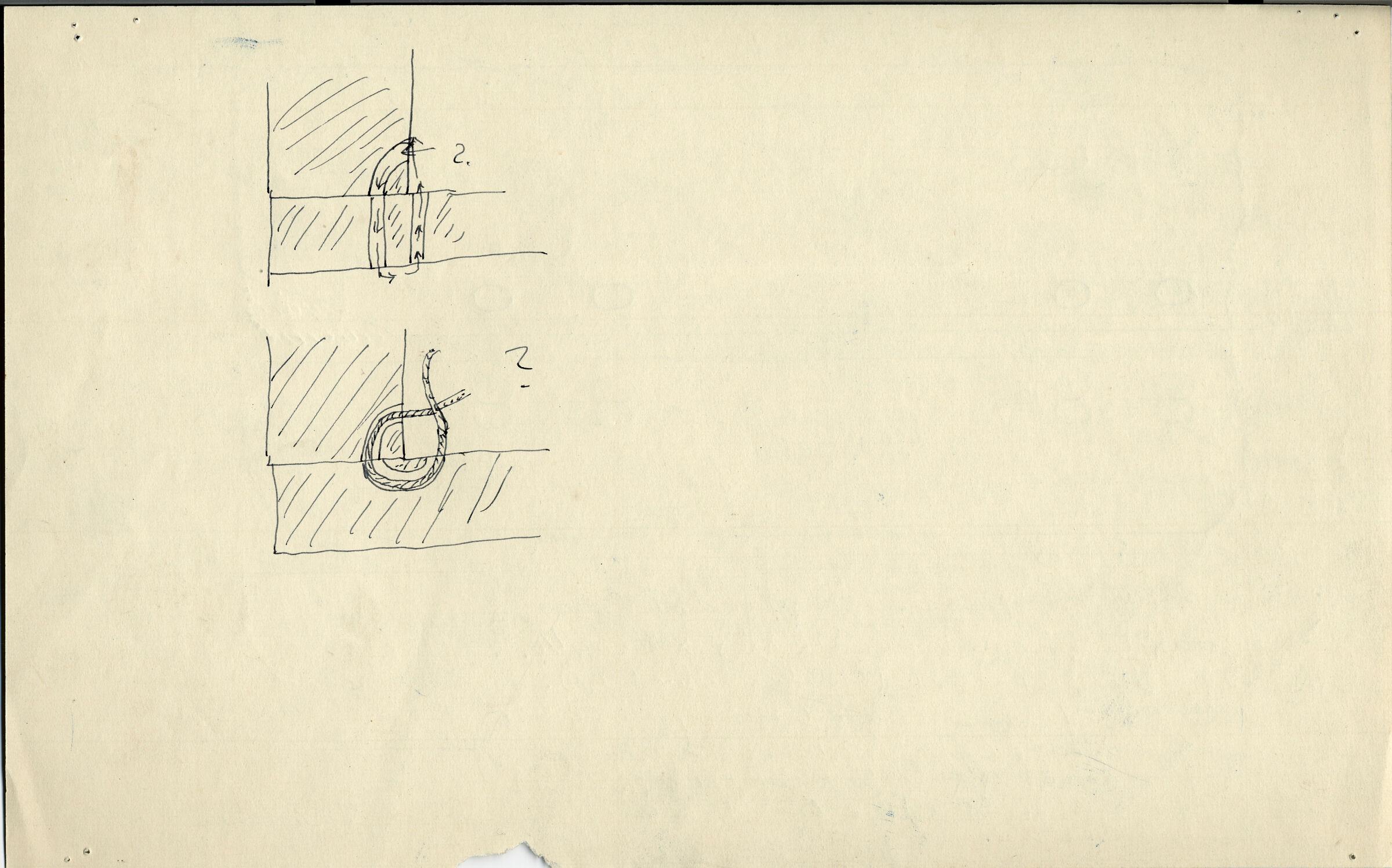 Drawings: G 7143, Shaft B, wood coffin