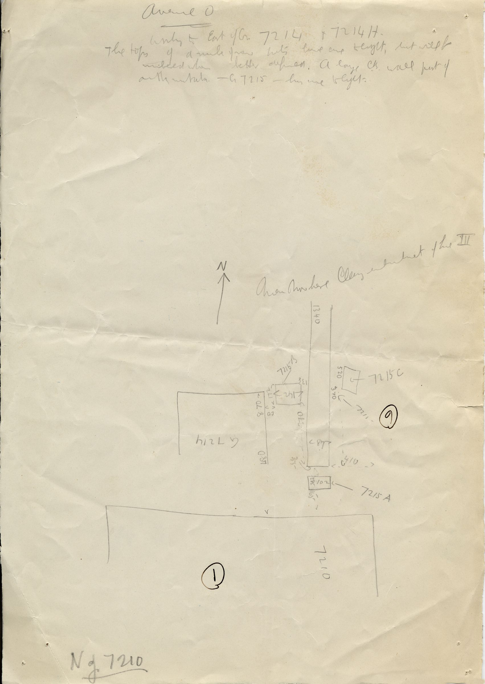 Maps and plans: Avenue G 0: G 7214 and G 7215