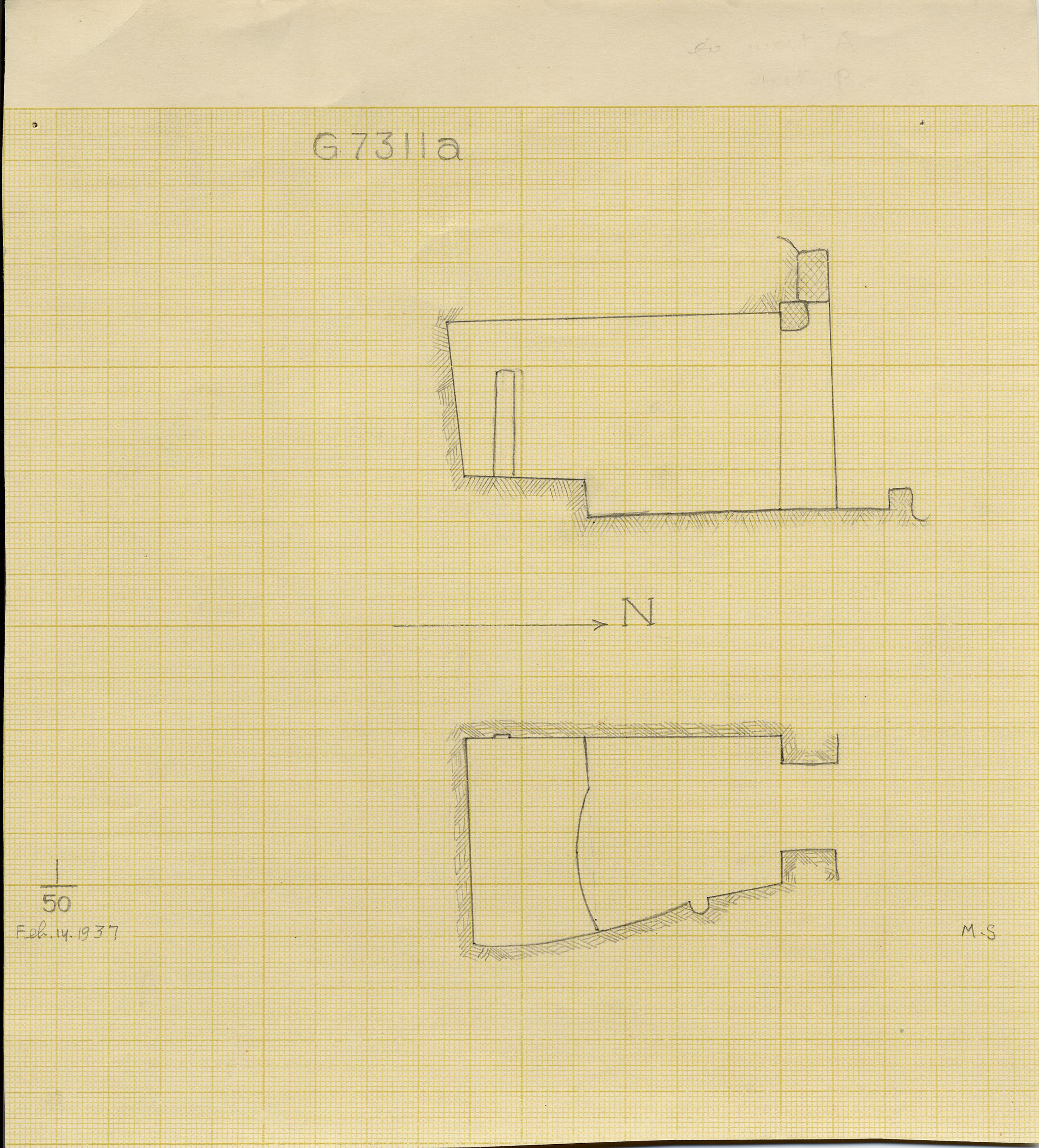 Maps and plans: G 7311, Chapel a