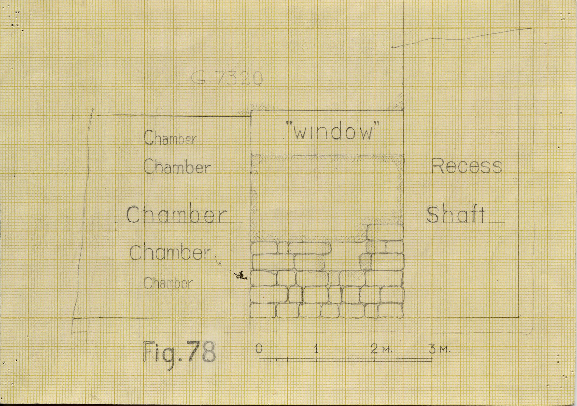 Maps and plans: G 7310-7320: G 7320, Section of chapel area