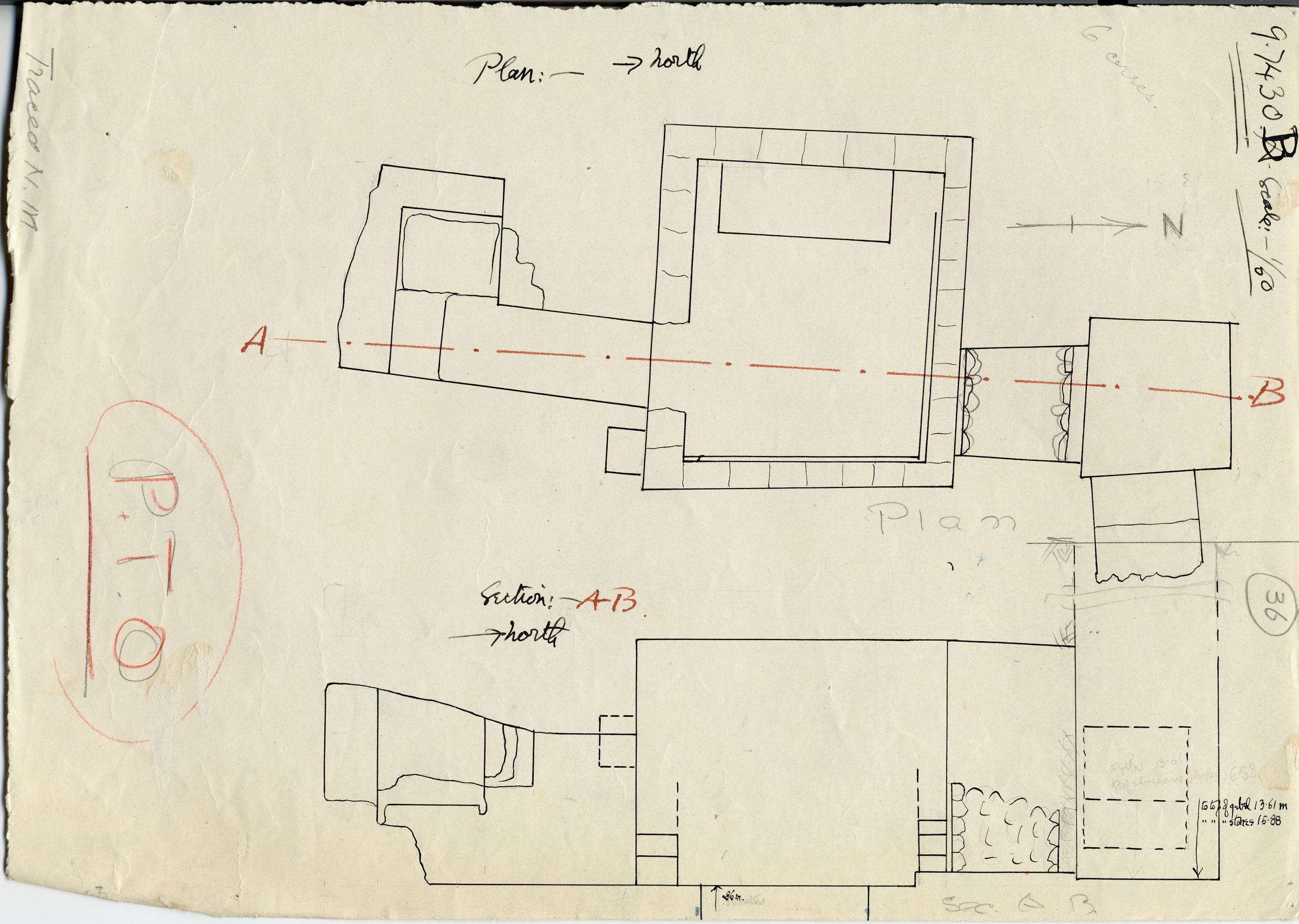 Maps and plans: G 7430-7440: G 7430, Shaft B
