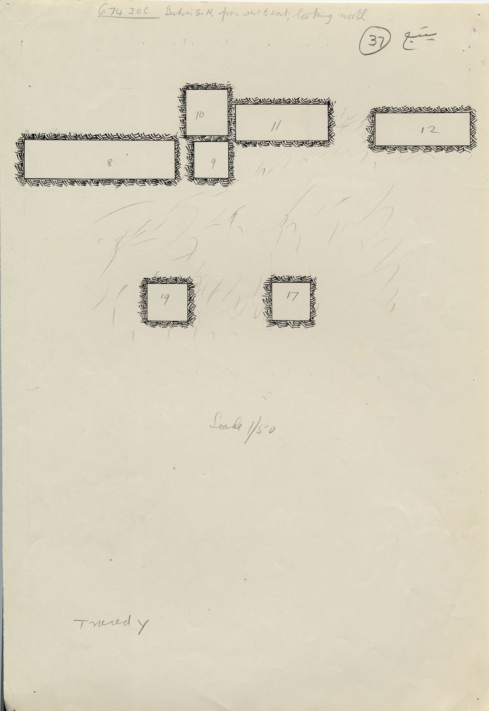 Maps and plans: G 7430-7440: G 7430, Shaft C