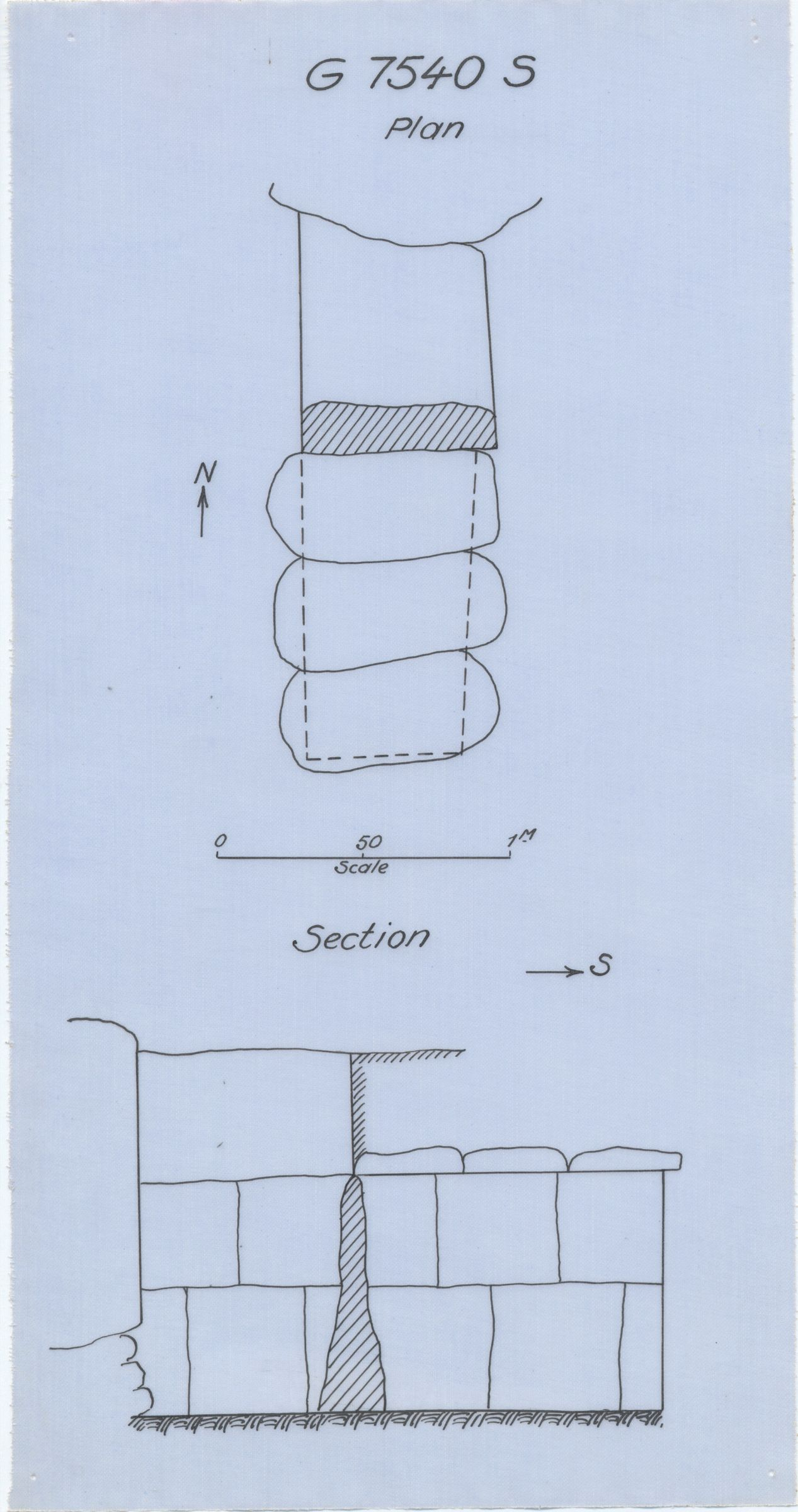 Maps and plans: G 7530-7540: G 7540, Shaft S