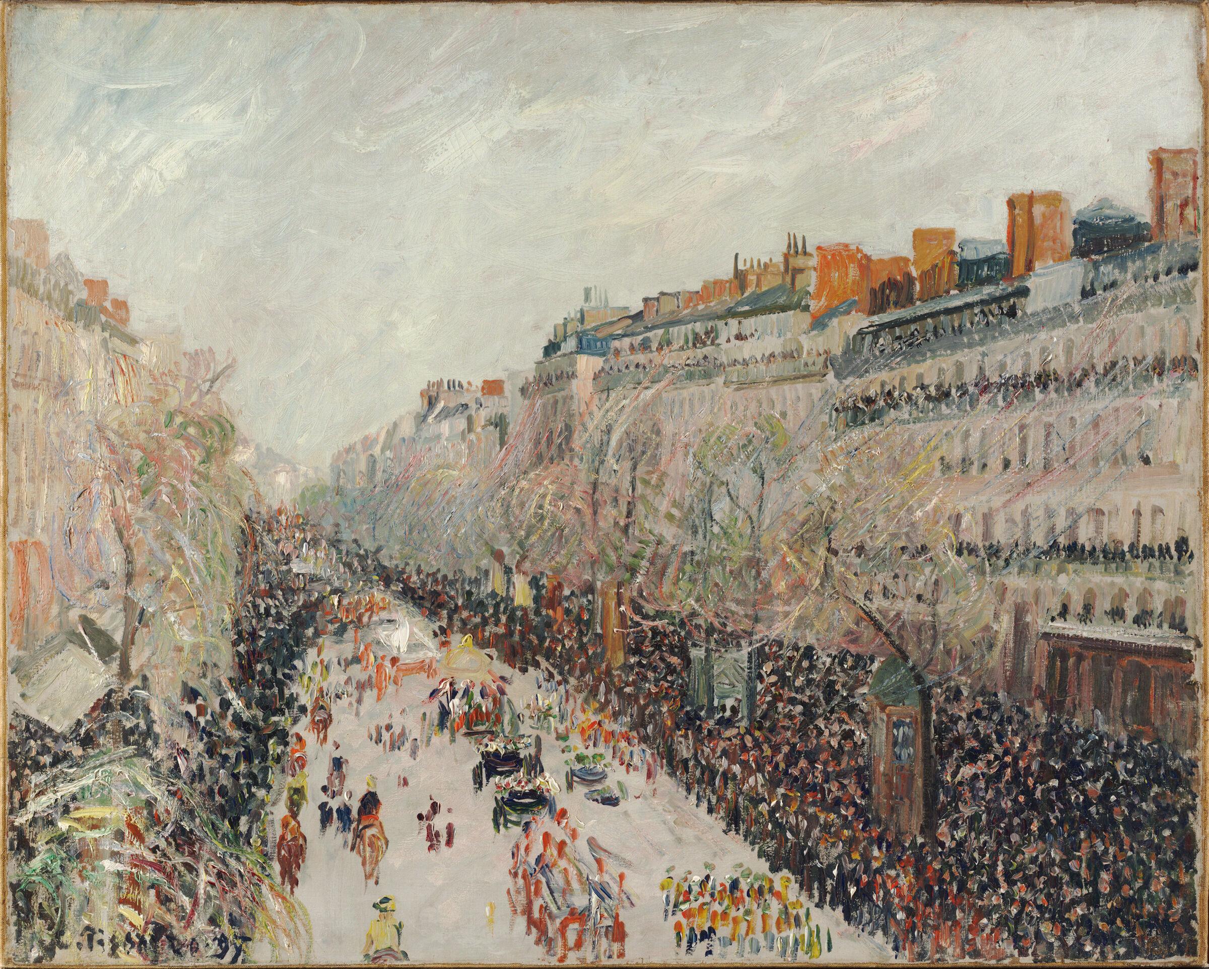 Mardi Gras On The Boulevards