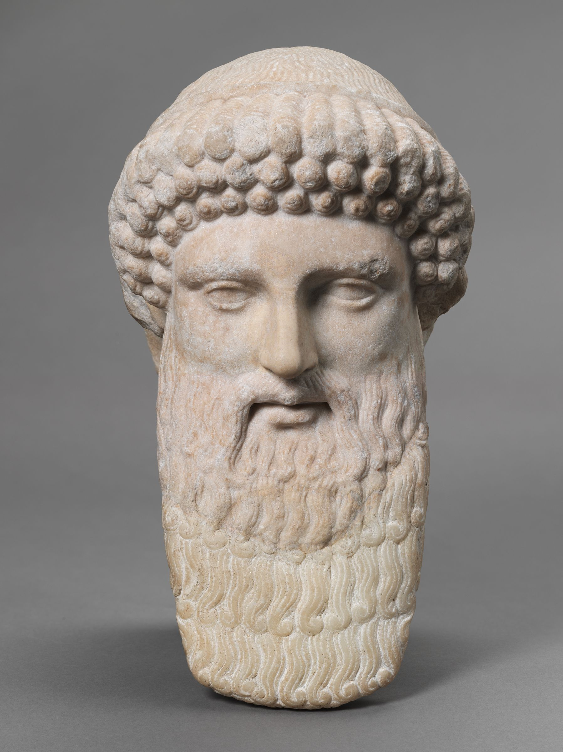 From the Harvard Art Museums' collections Head of Hermes