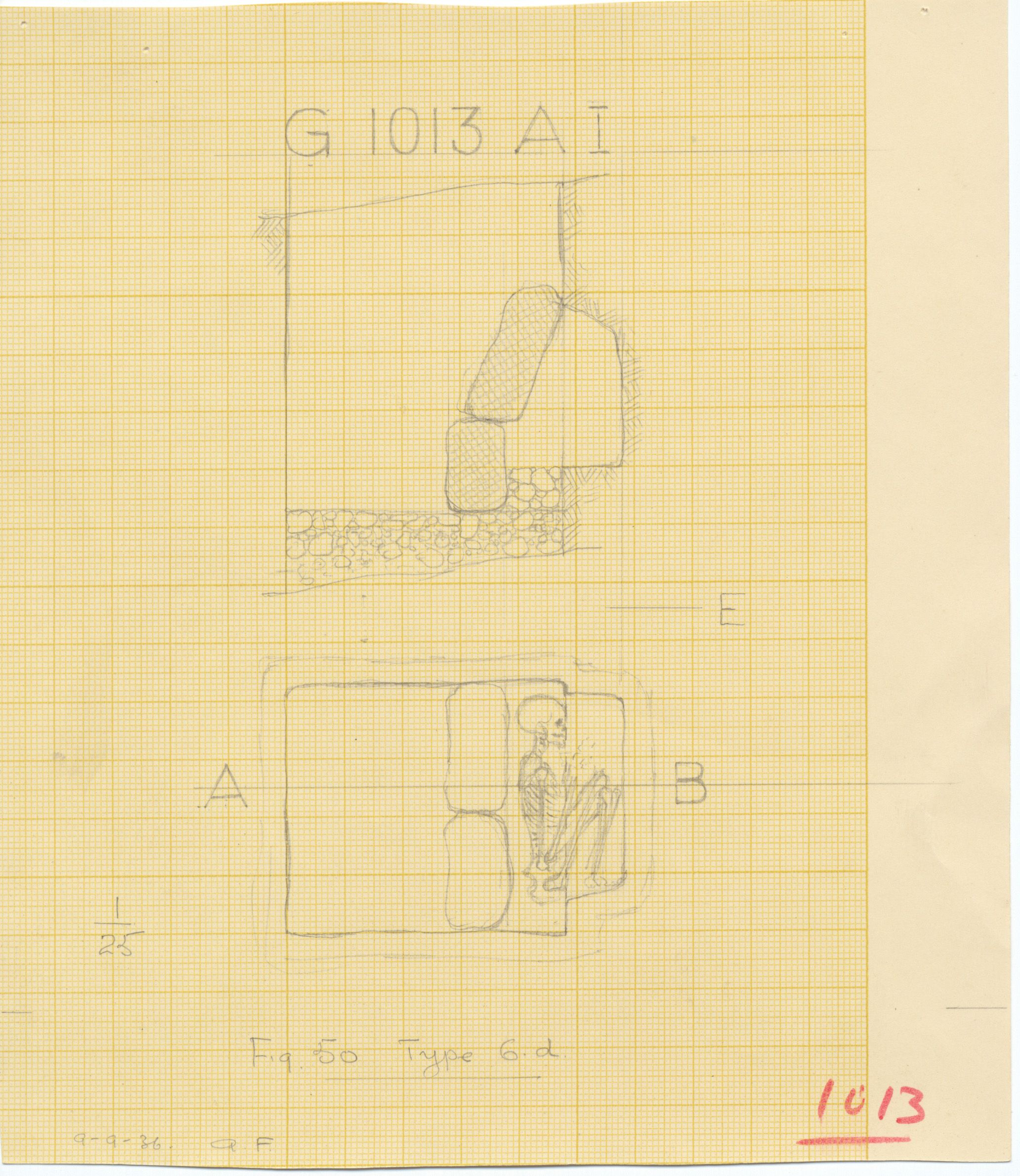 Maps and plans: G 1013, Shaft A (I)