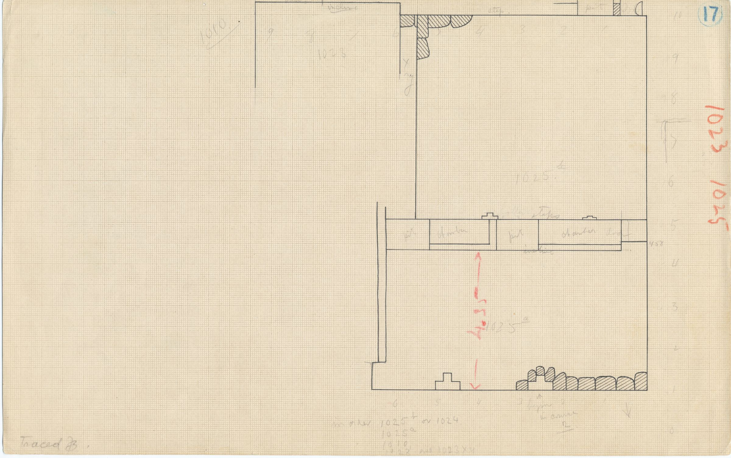 Maps and plans: G 1025 (G 1025a & G 1025b), Plan