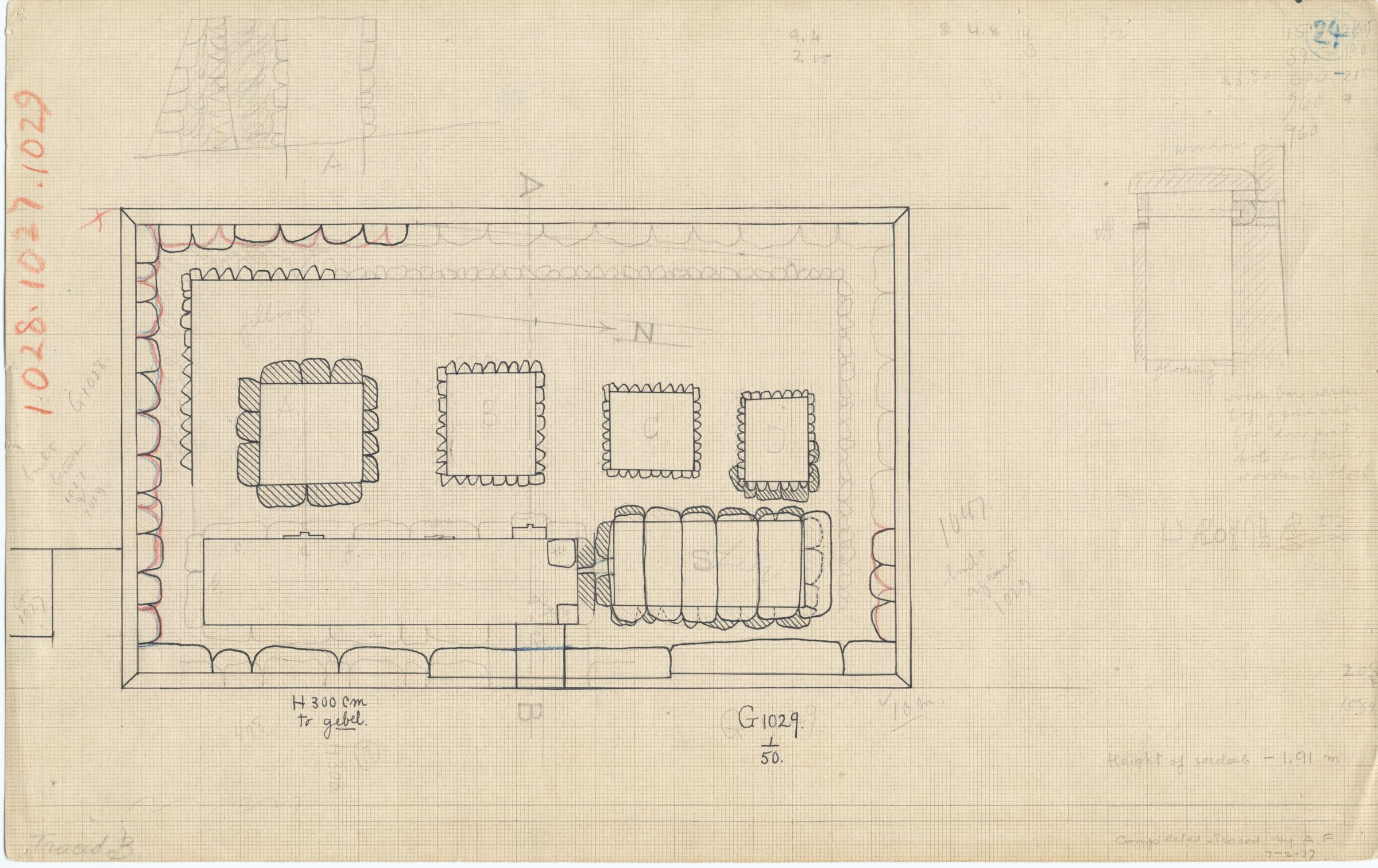 Maps and plans: G 1029, Plan