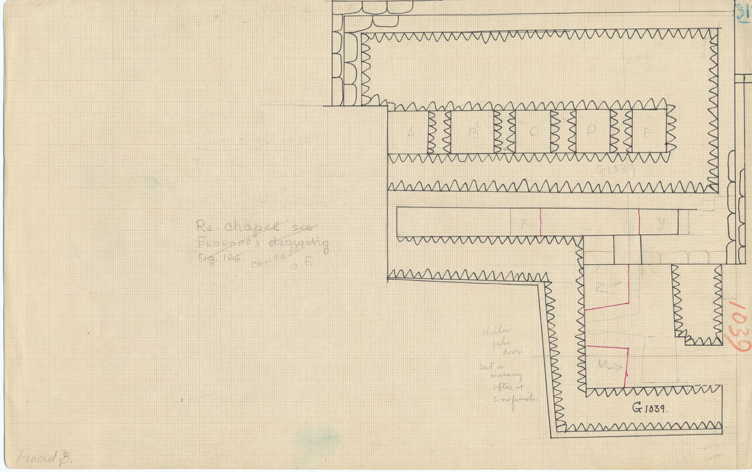 Maps and plans: G 1039, Plan