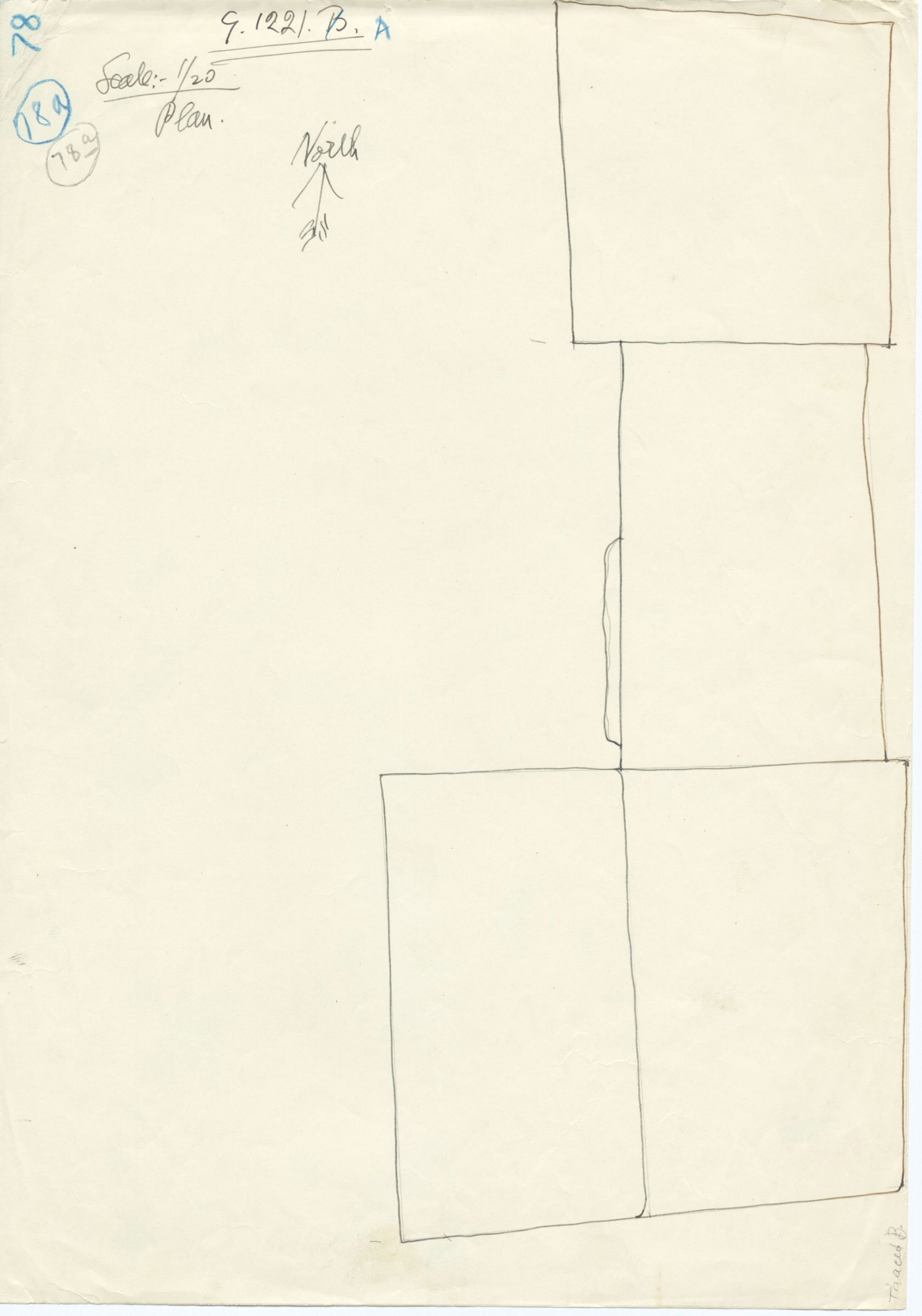 Maps and plans: G 1221, Shaft A