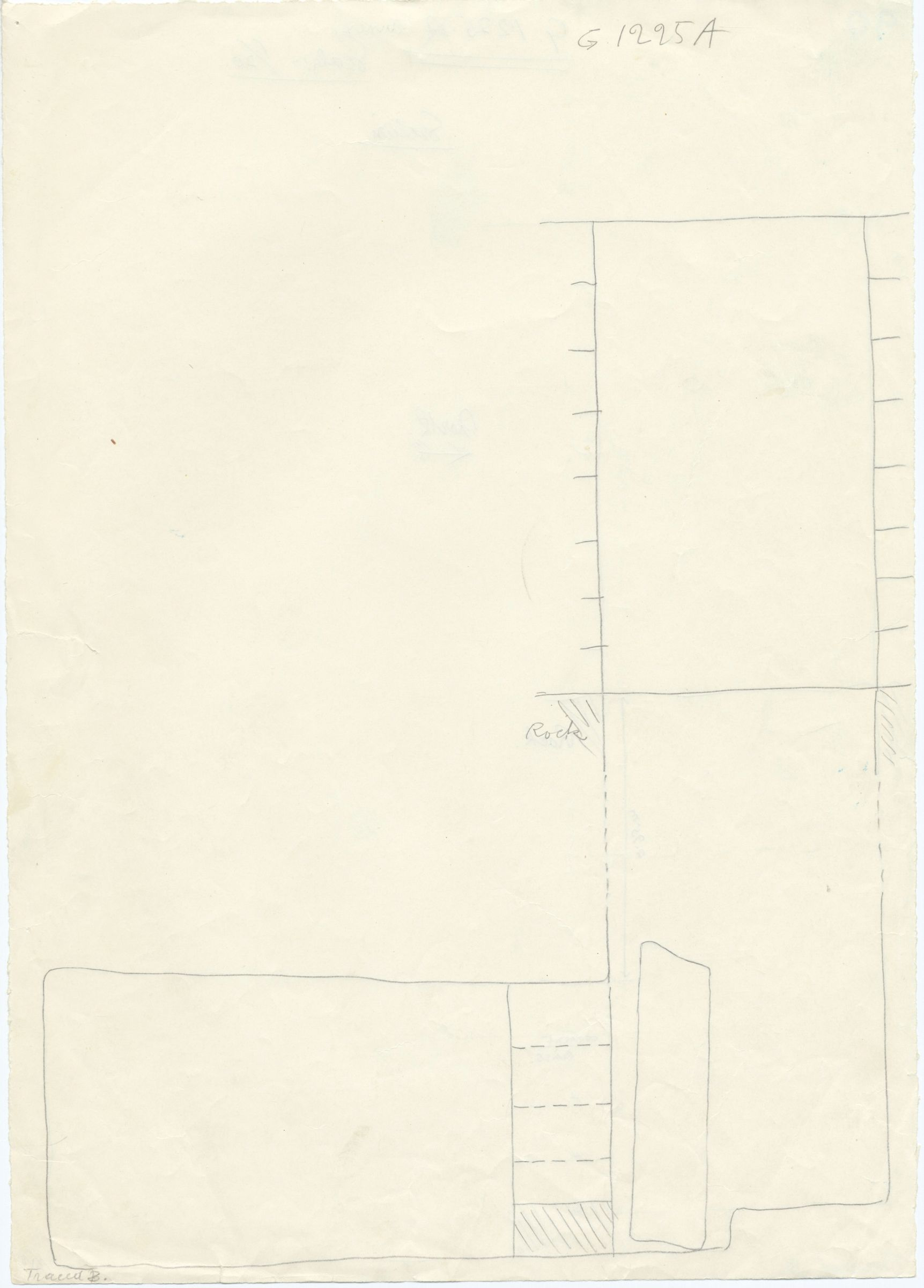 Maps and plans: G 1225-Annex, Shaft A