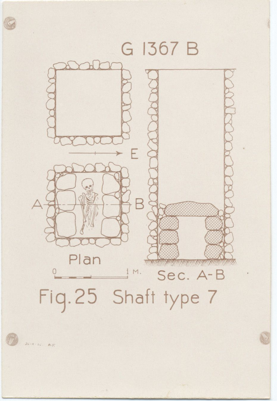 Maps and plans: G 1367, Shaft B