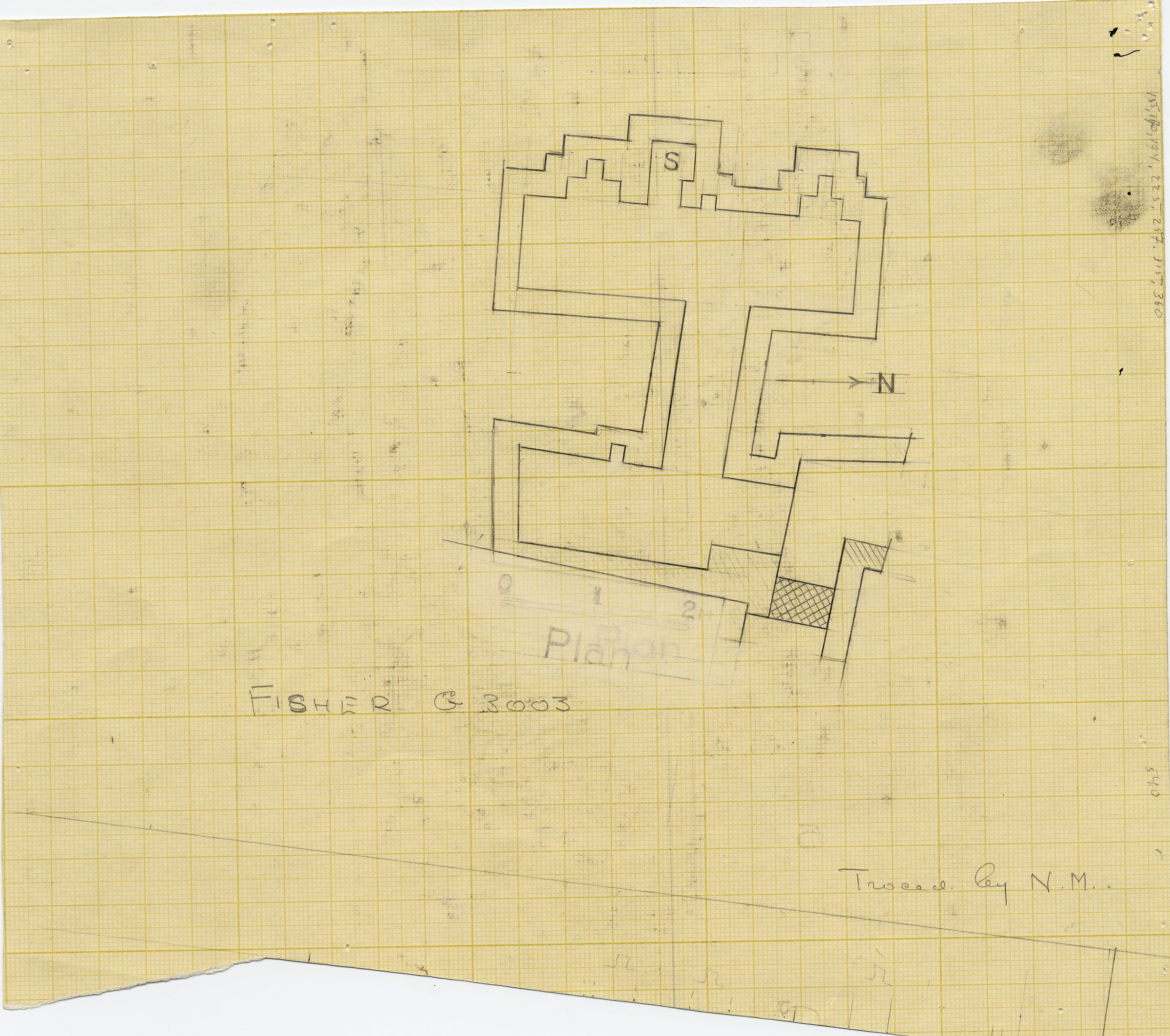 Maps and plans: G 3003, Plan