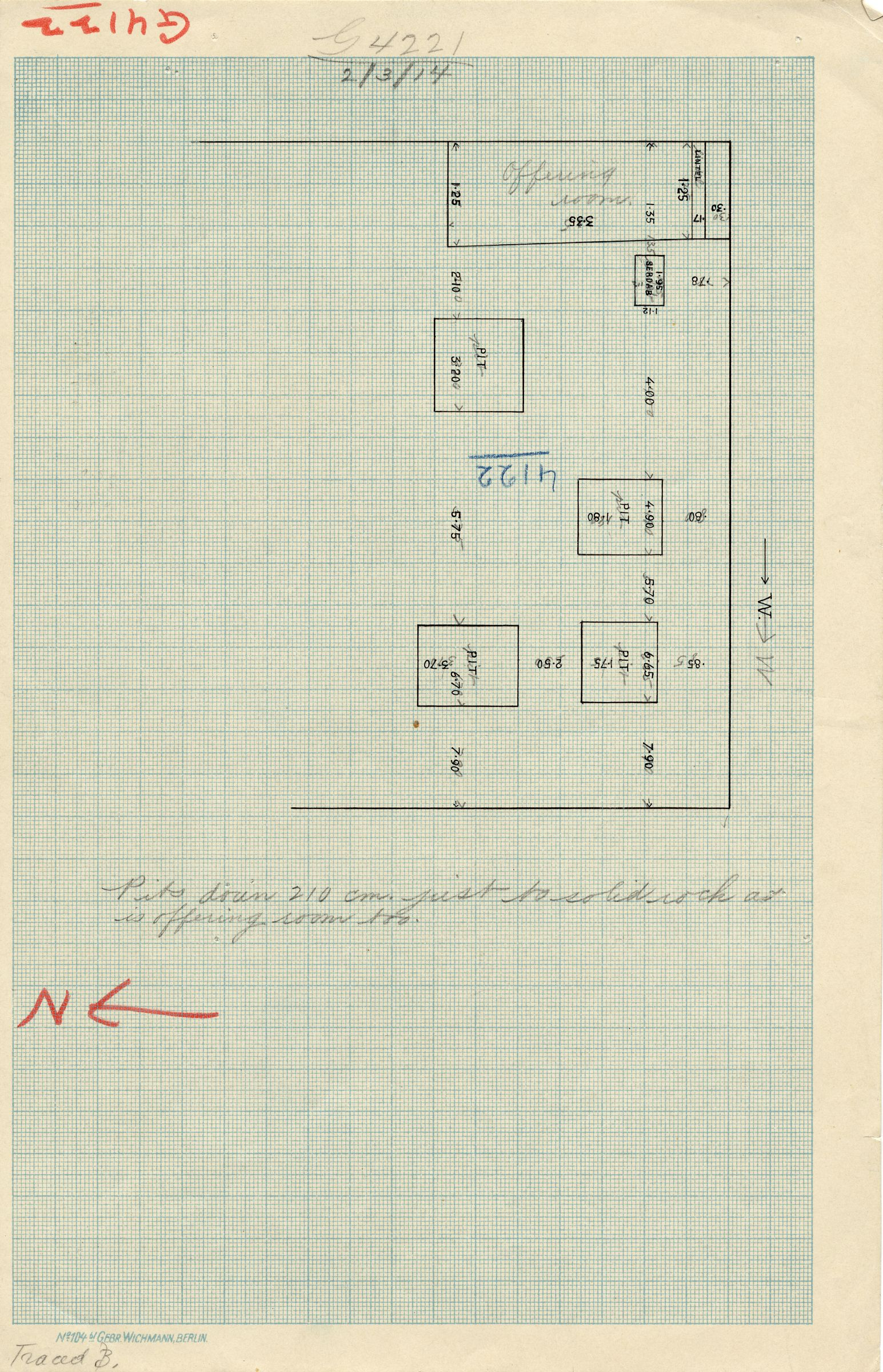 Maps and plans: G 4122, Plan