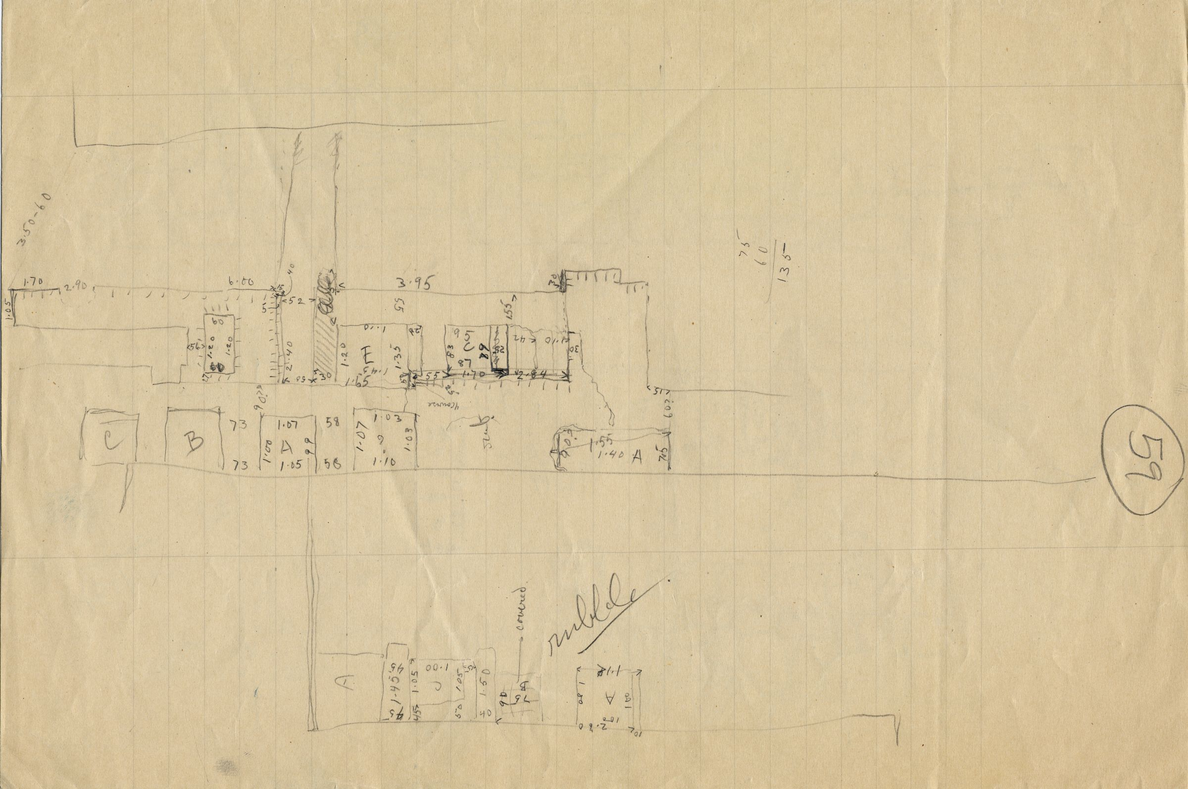 Maps and plans: Sketch plan of G 4522 and G 4523