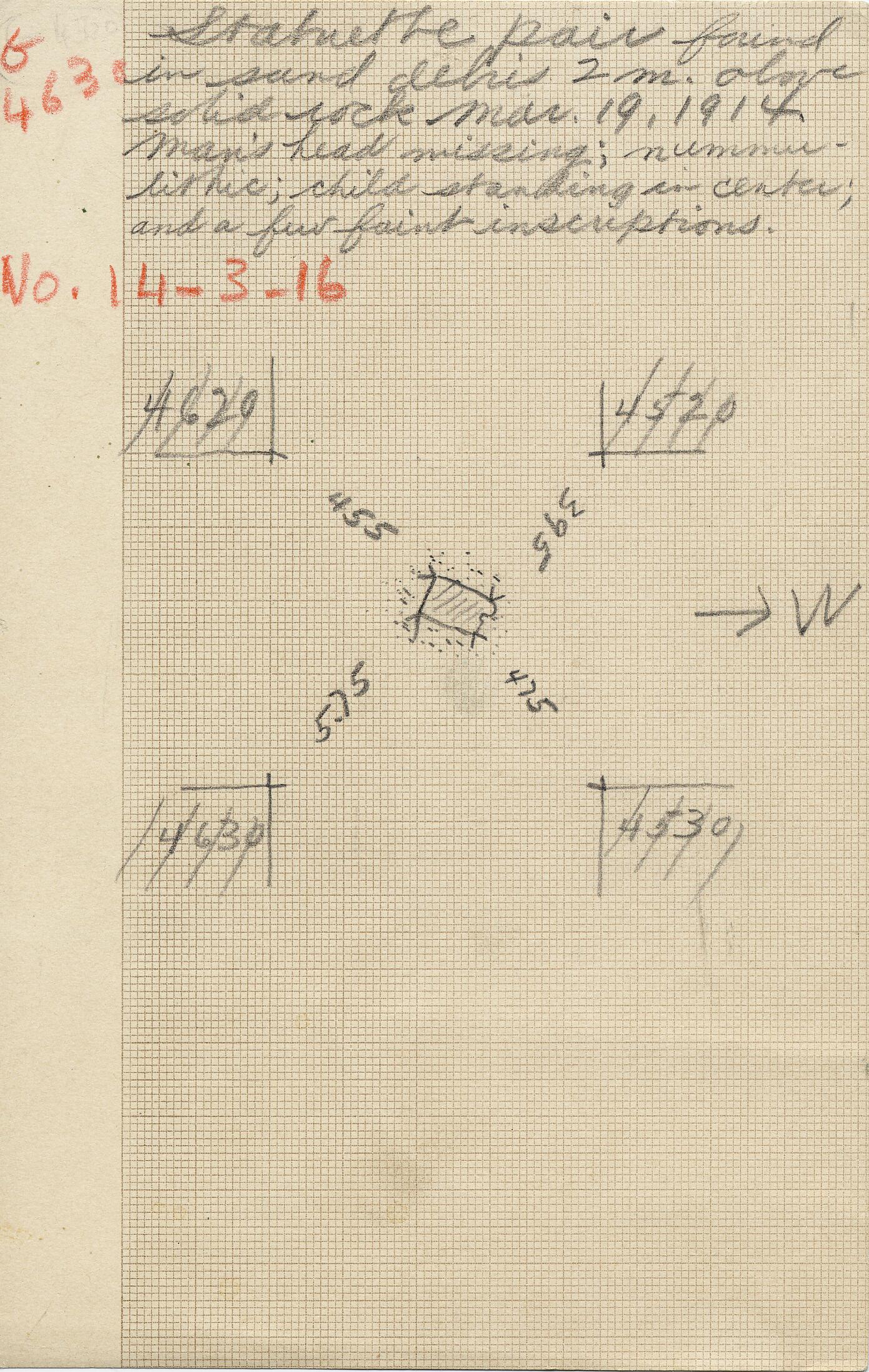 Notes: G 4630, Shaft A