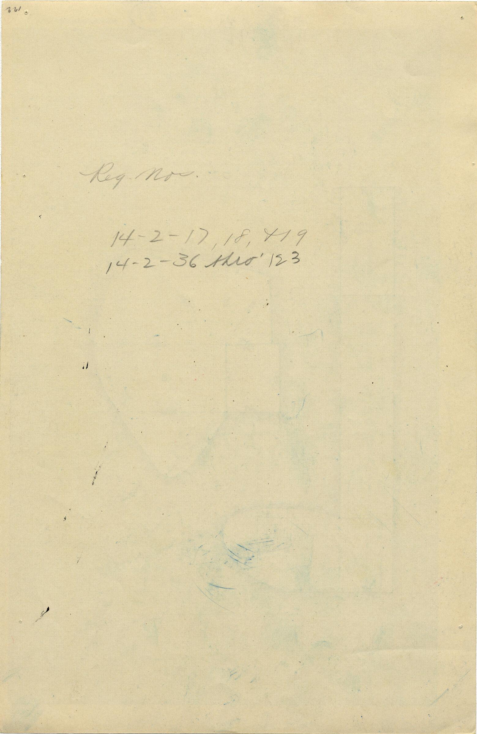 Notes: G 4733, Shaft E, notes