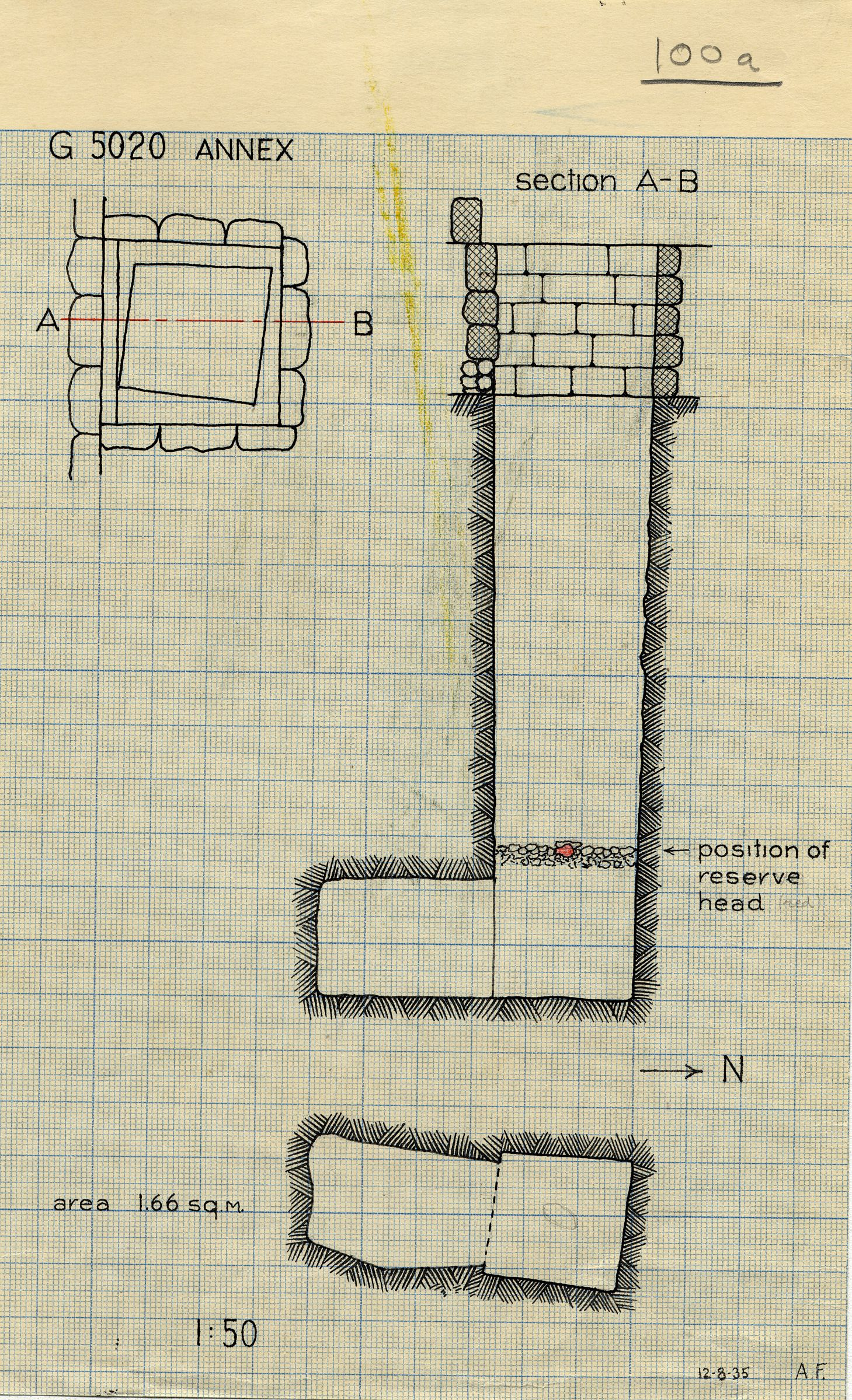 Maps and plans: G 5020-Annex, Shaft A