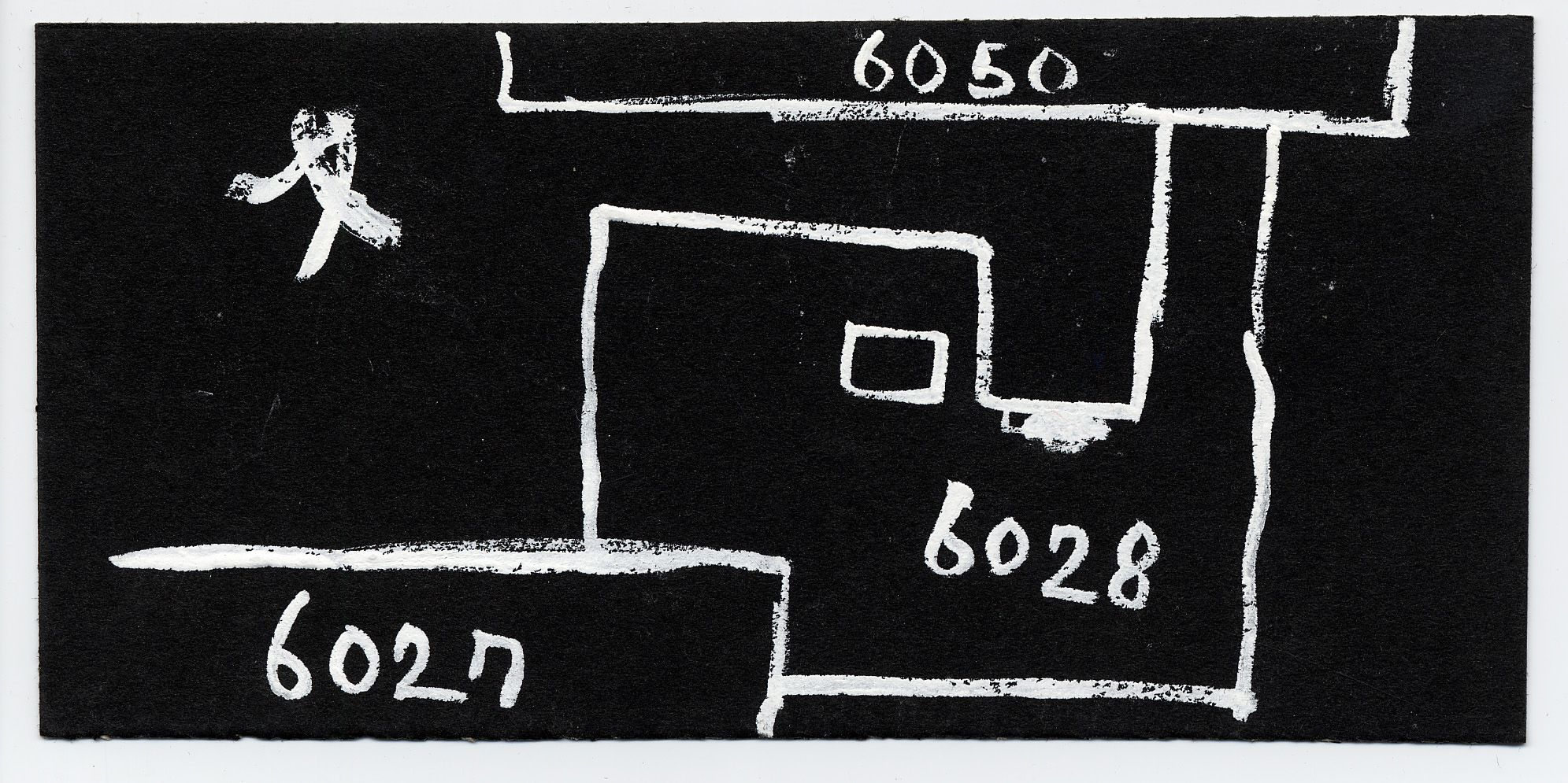 Maps and plans: Sketch plan of G 6027, G 6028, G 6050
