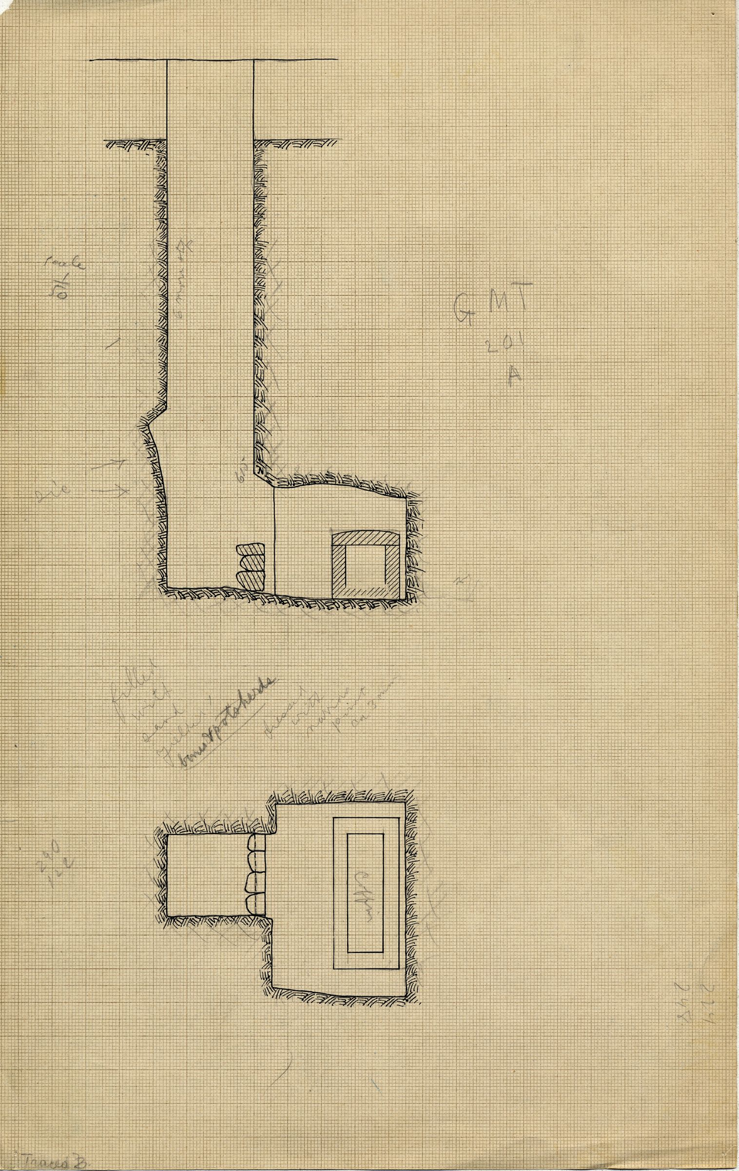 Maps and plans: MQ 202, Shaft A