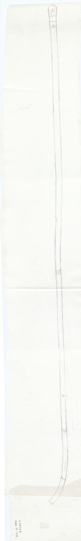 Drawings: G 2011: wood staff (walking stick)