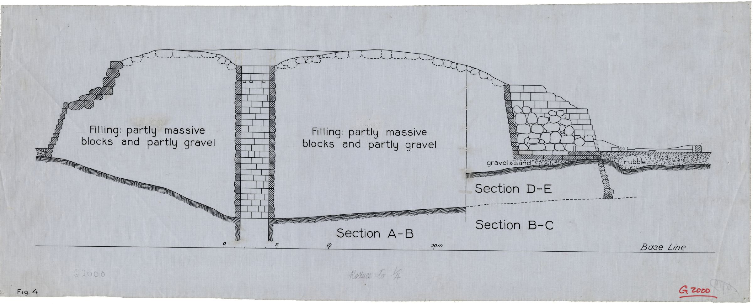 Maps and plans: Section of G 2000