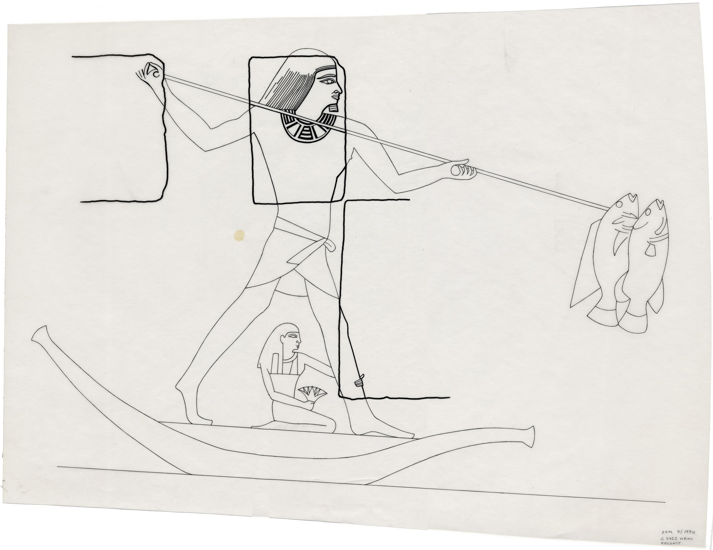 Drawings: G 2423: relief