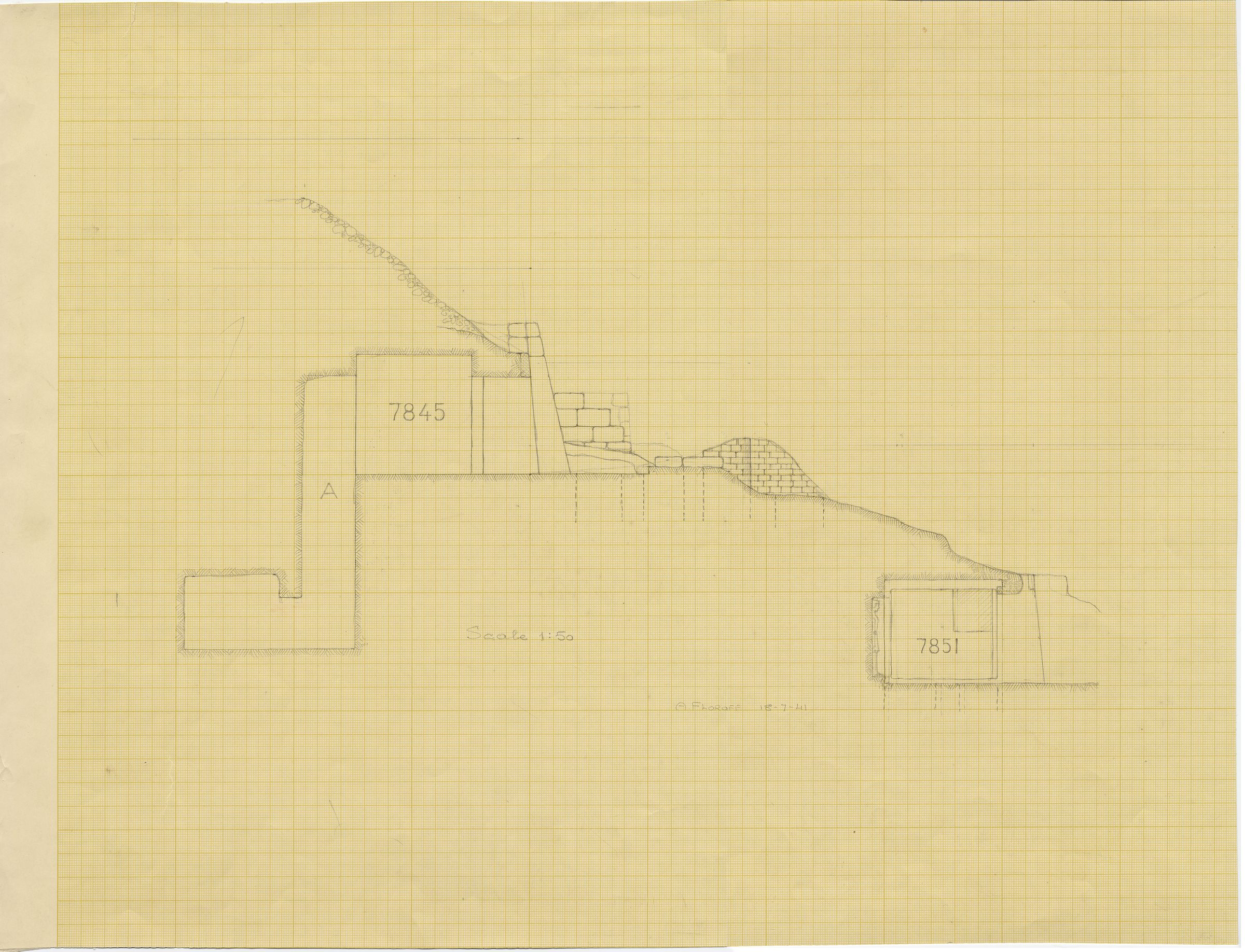 Maps and plans: Sections of G 7845 and G 7851