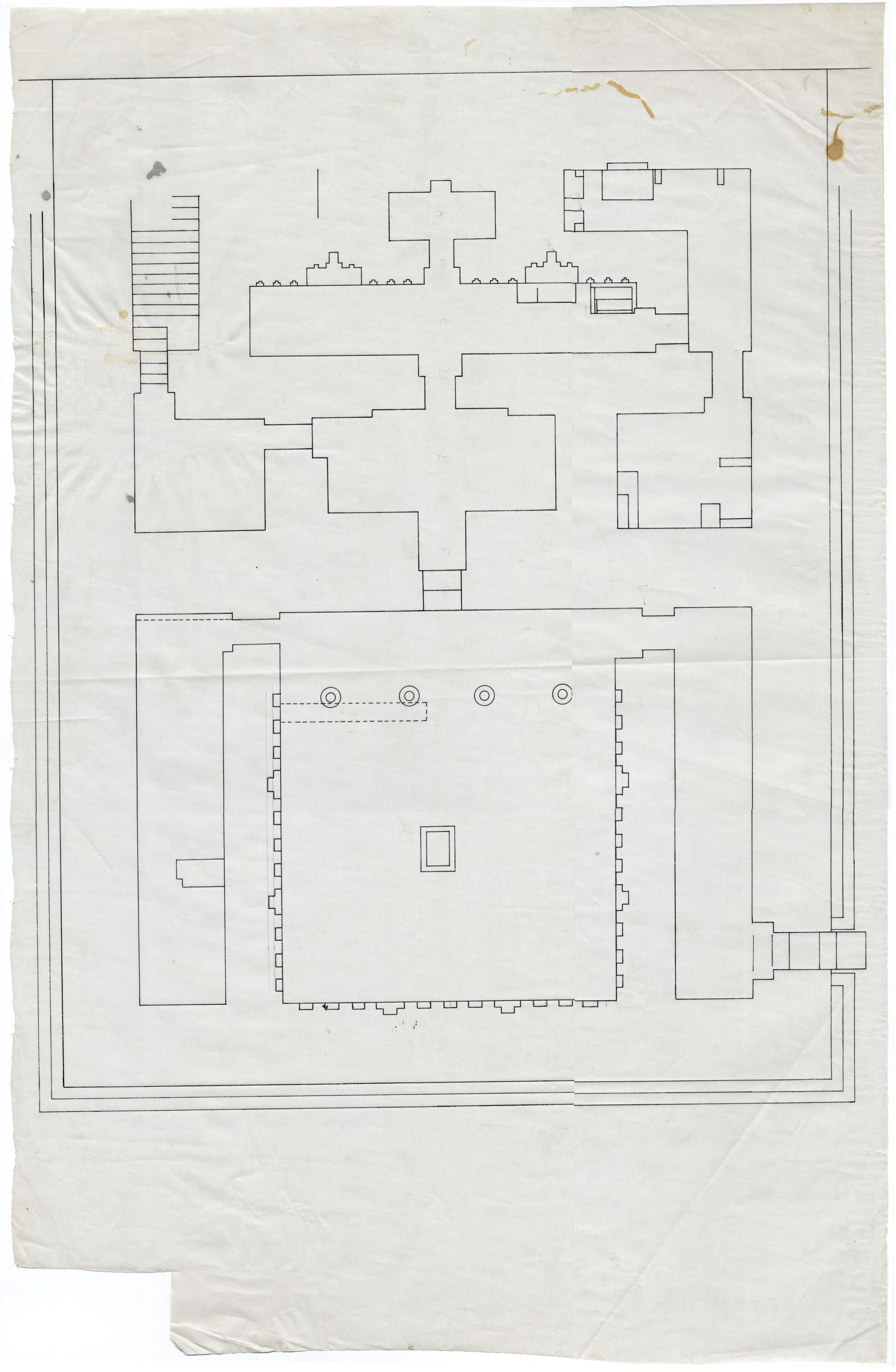 Maps and plans: G III-a Temple, Plan