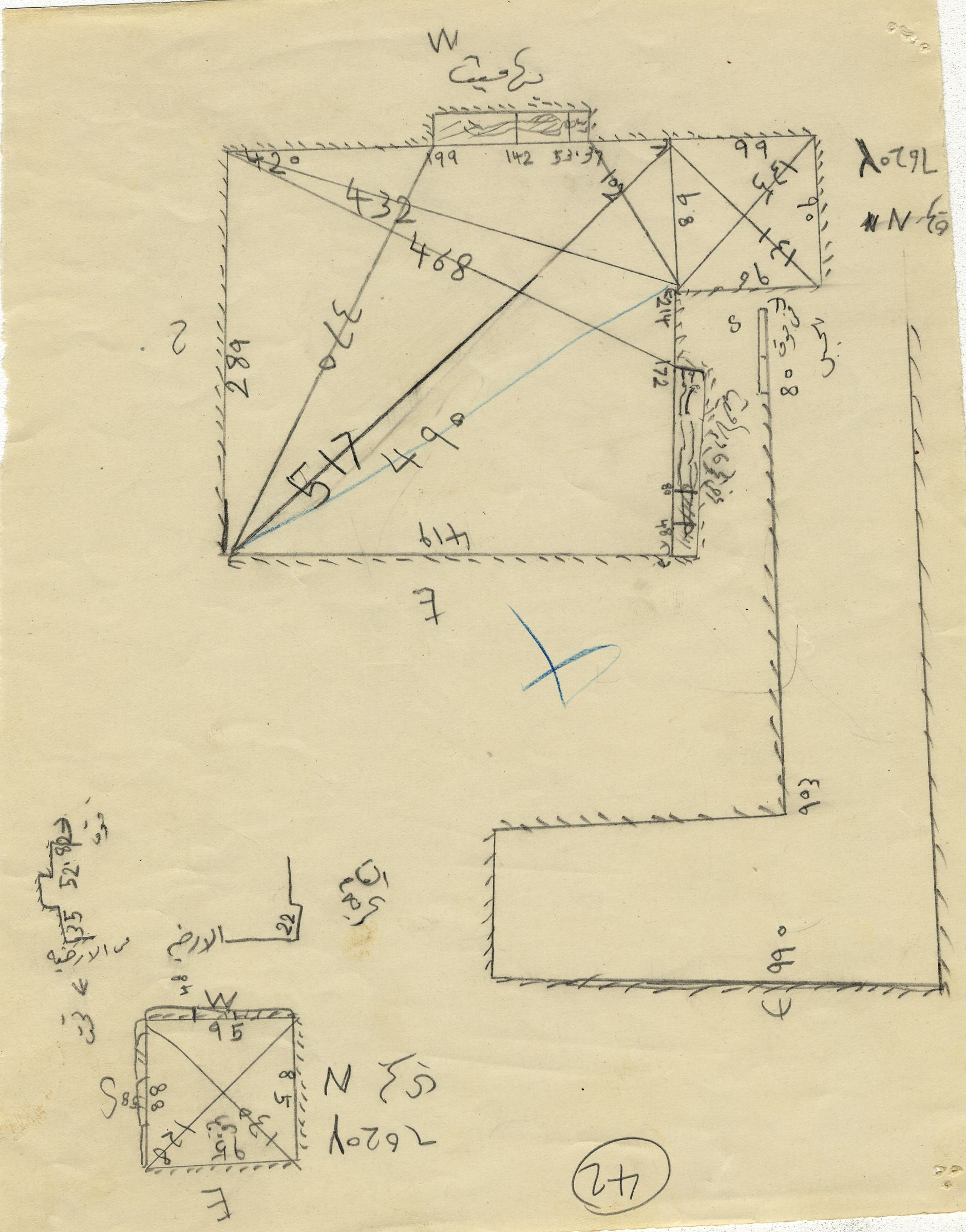 Maps and plans: G 7610+7620: G 7620, Shaft Y