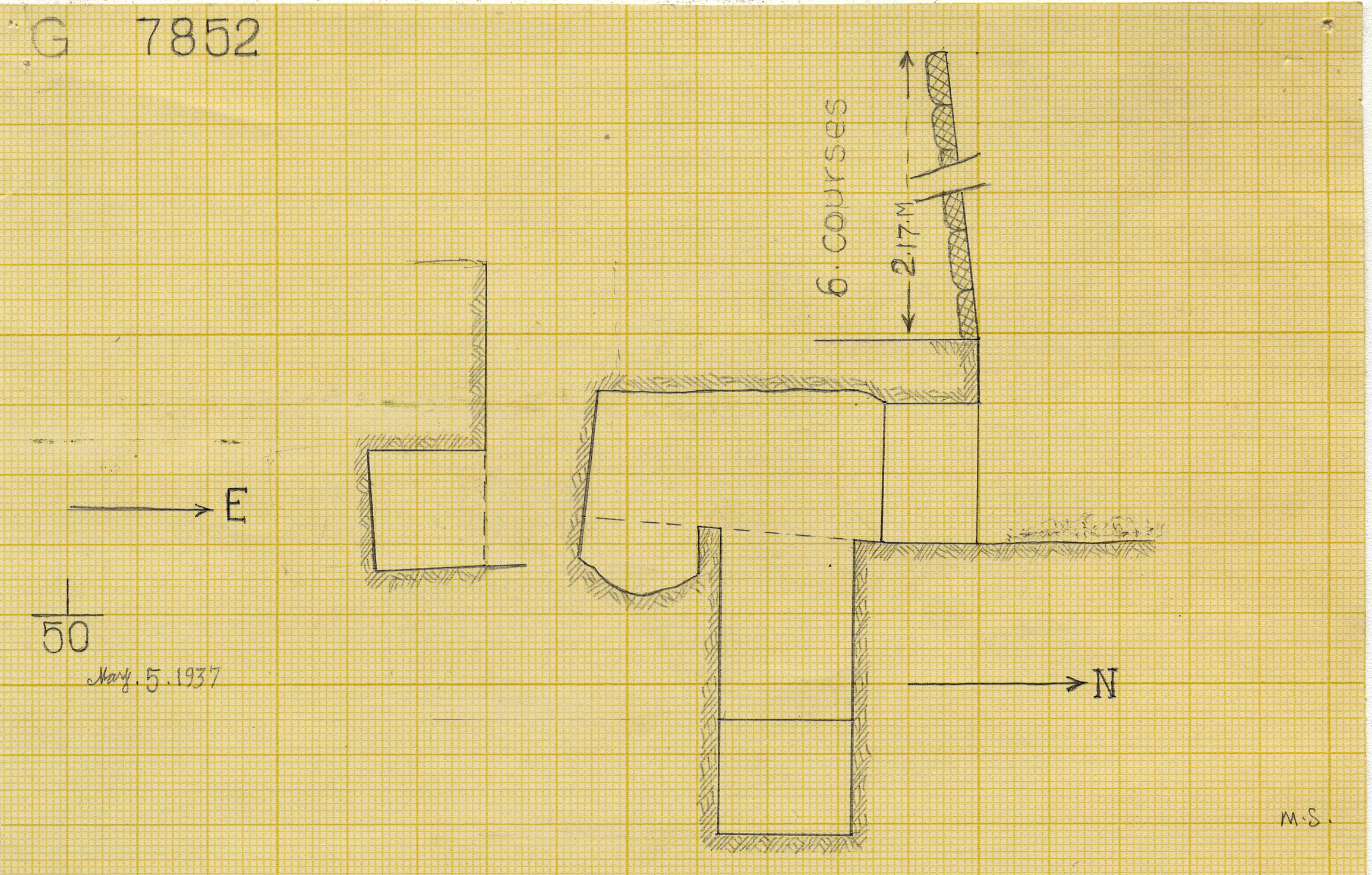 Maps and plans: G 7852