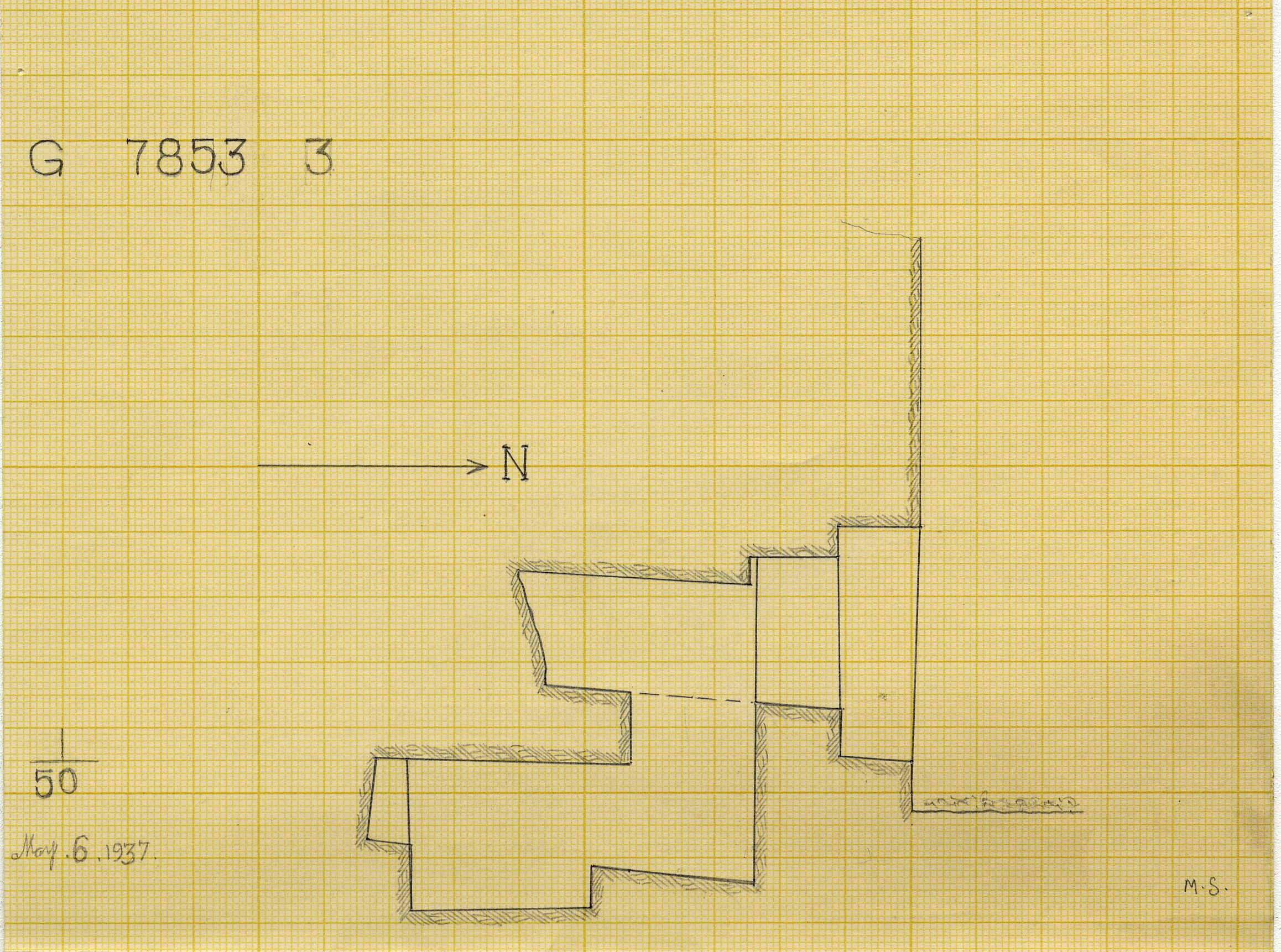 Maps and plans: G 7853