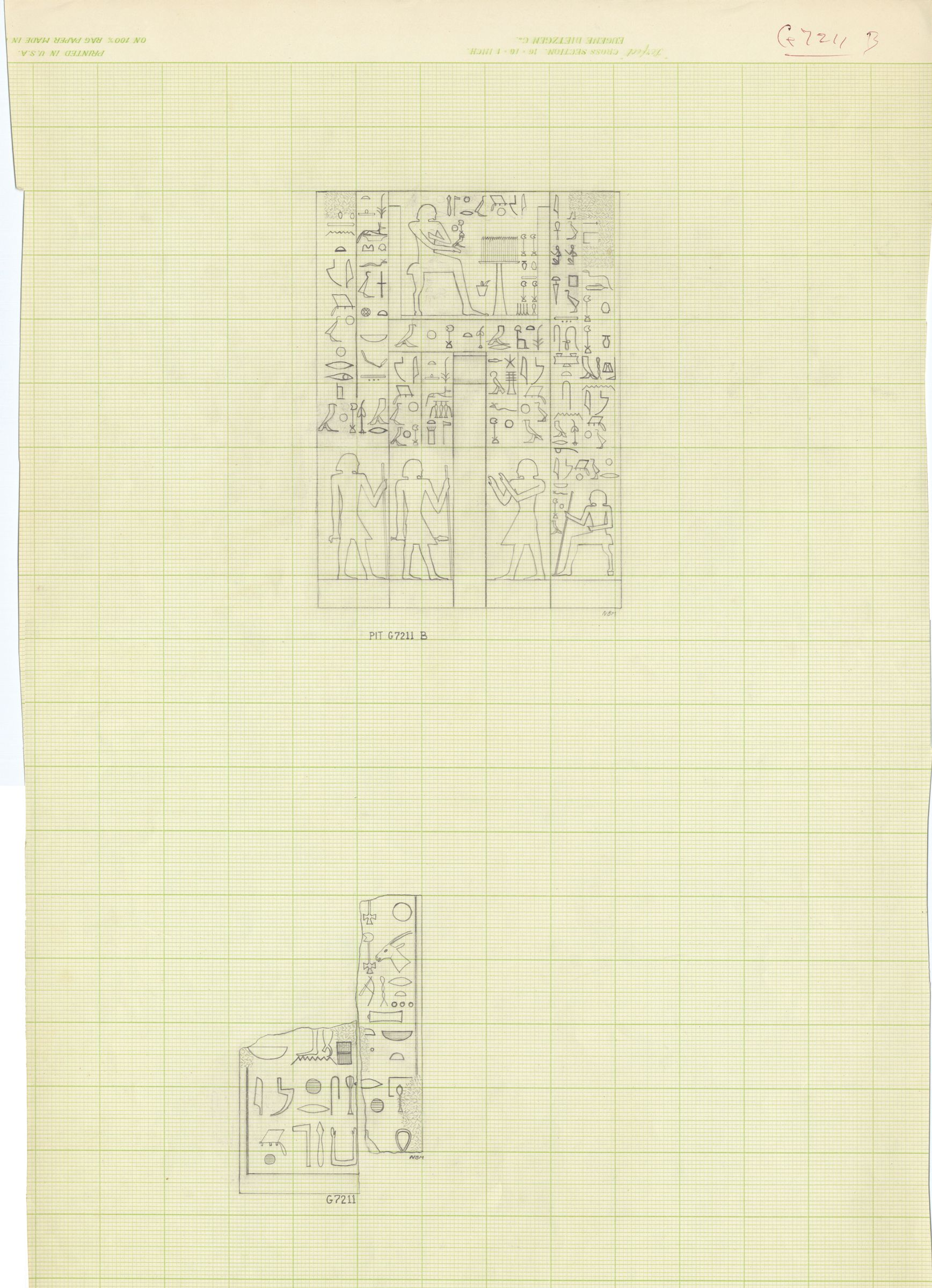 Drawings: G 7211: relief