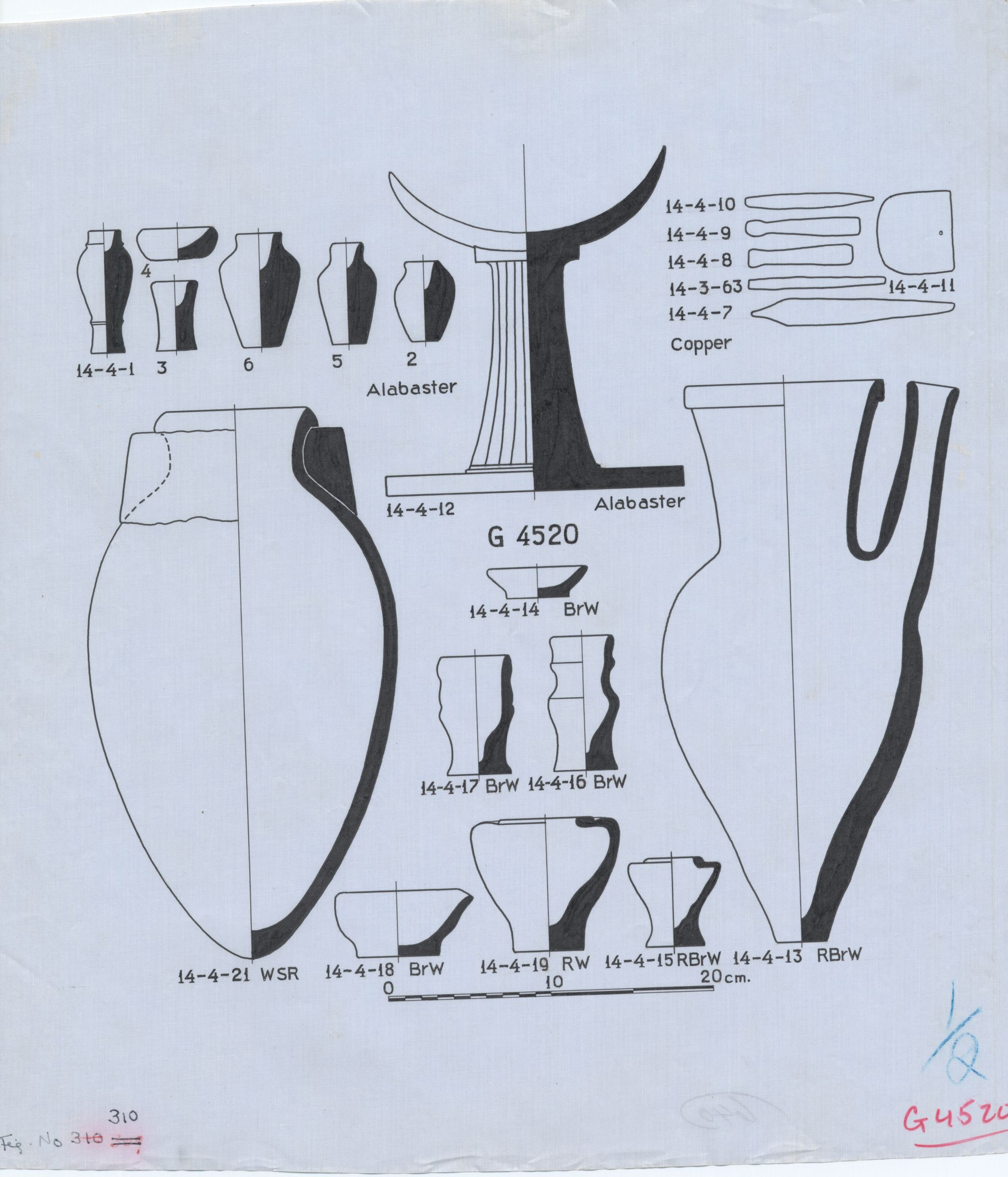 Drawings: G 4520: objects