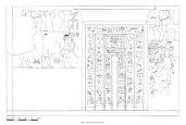 Drawings: G 7101: relief from Room E, W wall