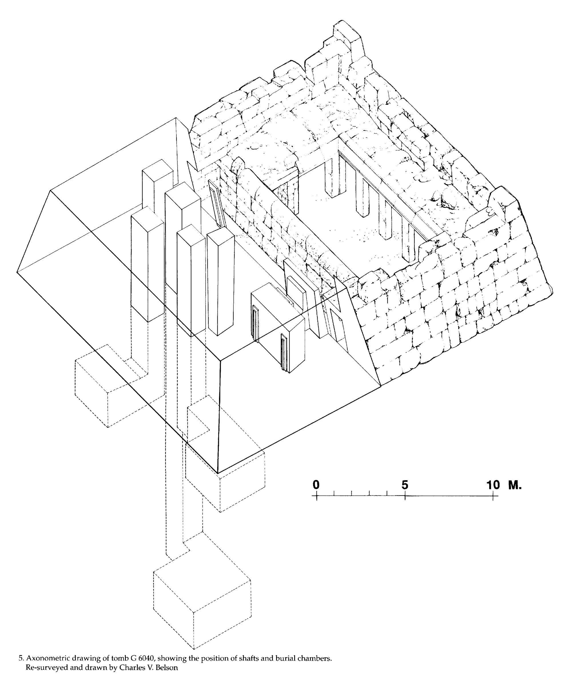 Maps and plans: G 6040, Axonometric drawing