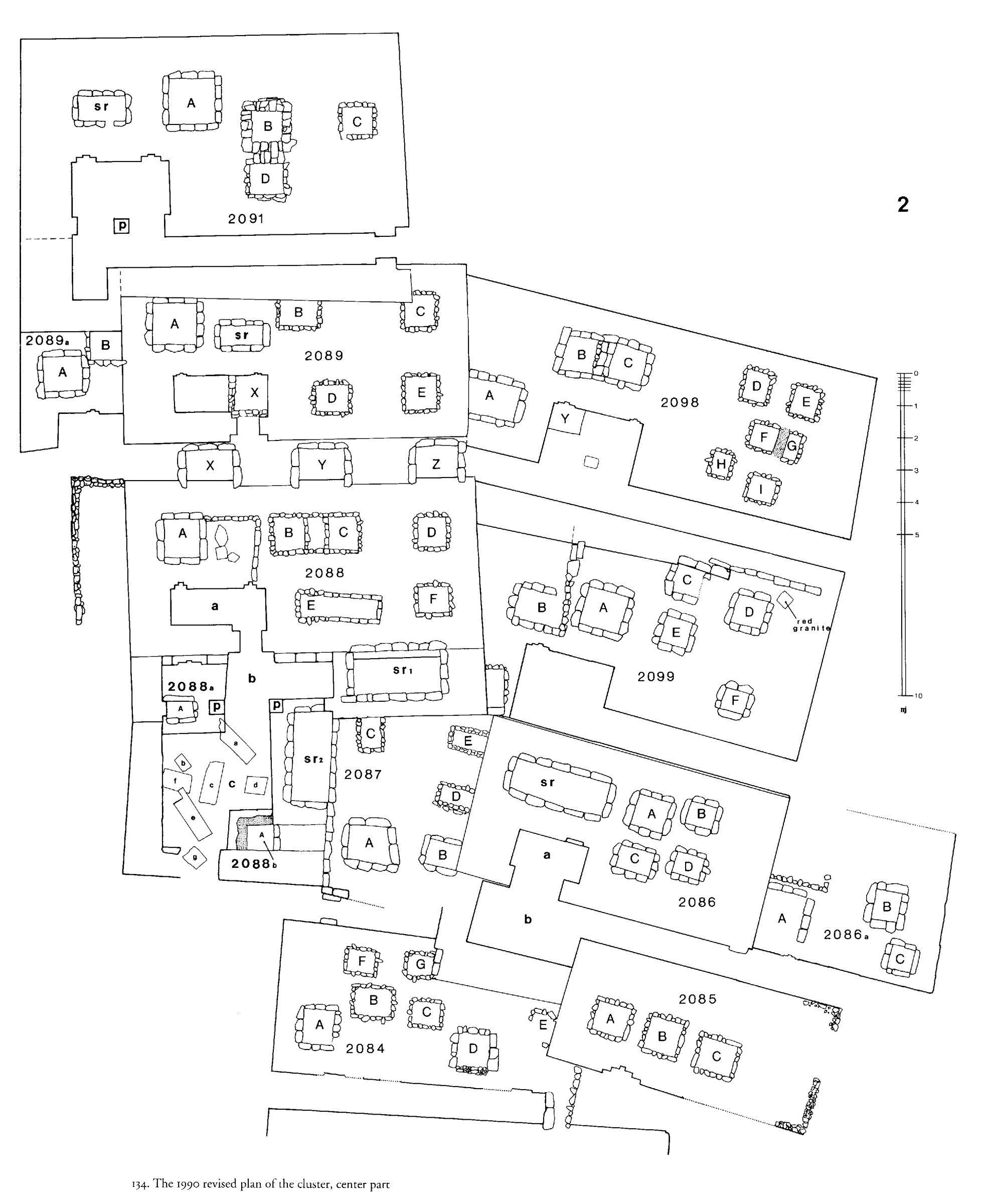 Maps and plans: Partial plan of Western Cemetery: G 2084, G 2085, G 2086, G 2087, G 2088, G 2089, G 2091, G 2098, G 2099