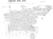 Maps and plans: General plan of cemetery G 7000